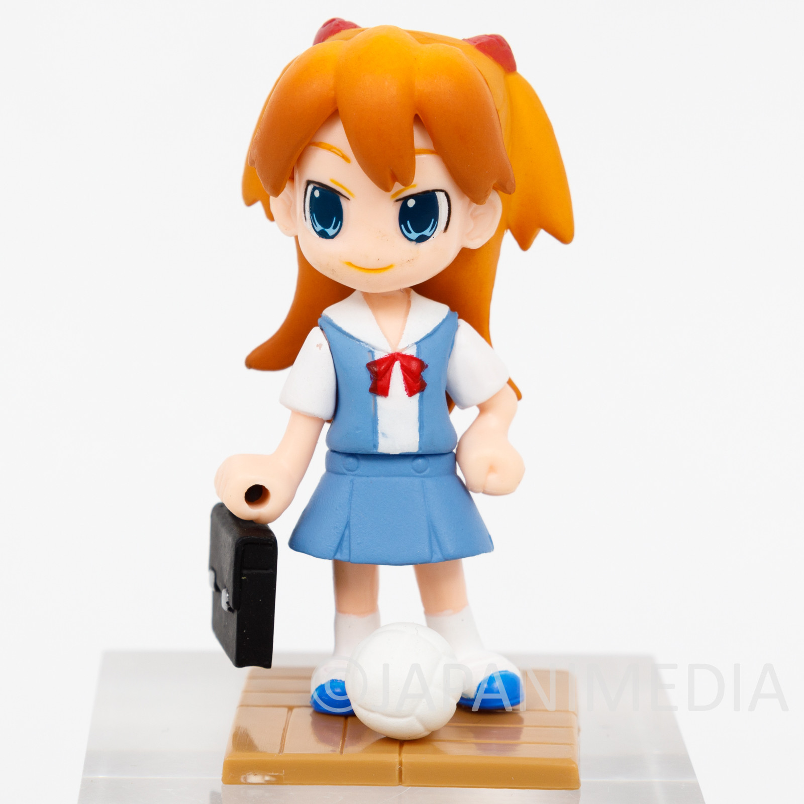 Evangelion Asuka Langely Scholl Uniform Figure Petit Eva Series JAPAN ANIME