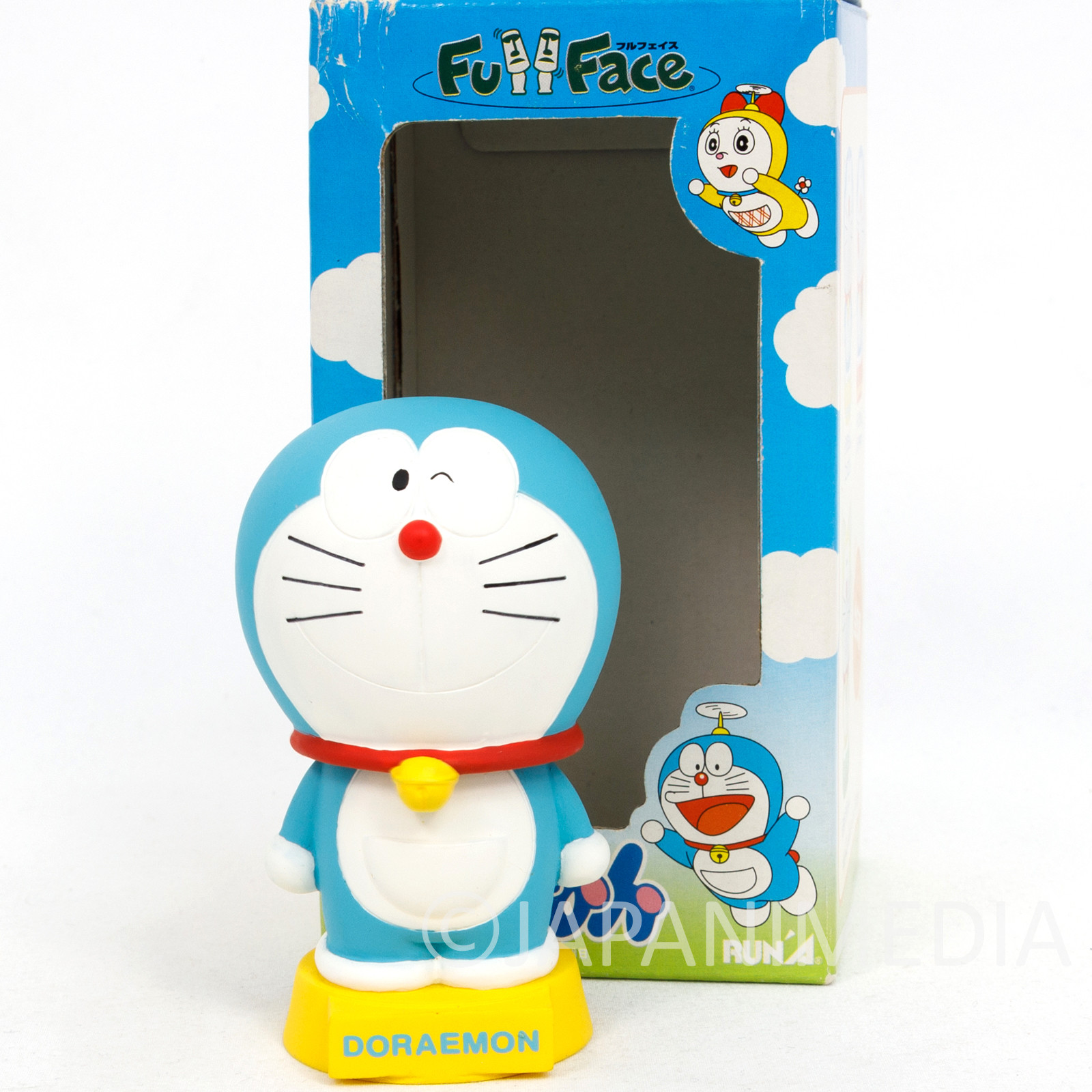 Doraemon Bobble Bobbin Head Figure Fujio F Fujiko JAPAN