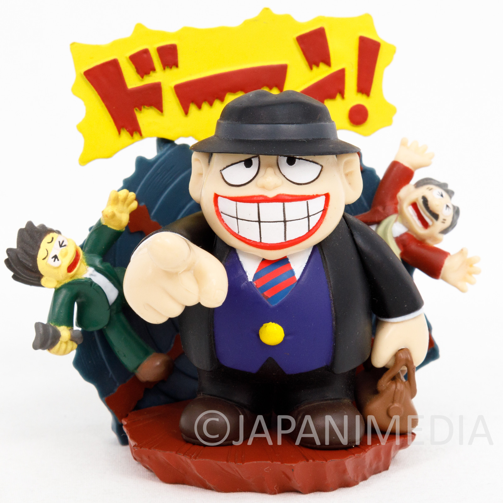Warau Laughing Salesman Diorama Miniature Figure JAPAN ANIME 3