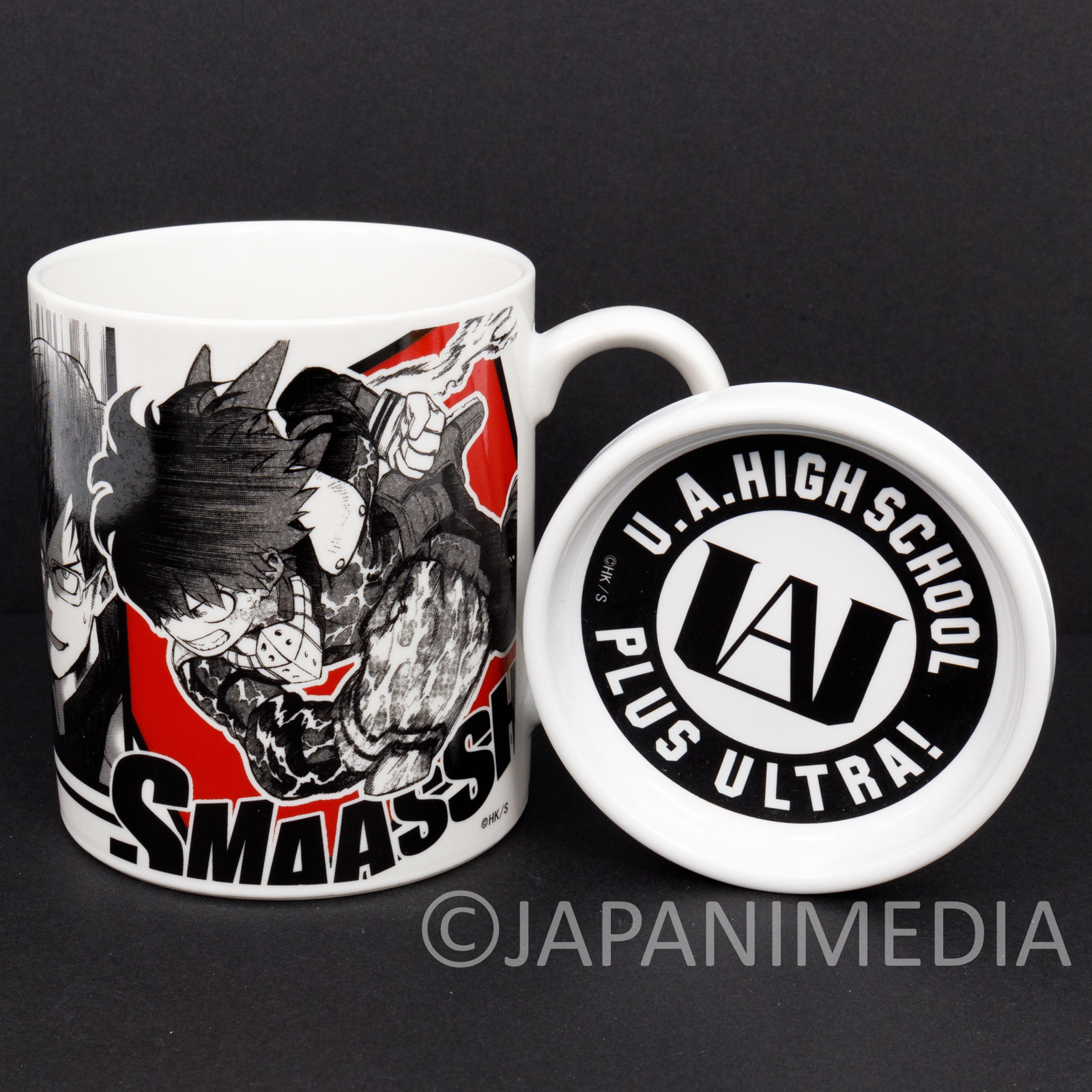 My Hero Academia Mug with Lid Shueisha Shonen Jump JAPAN MANGA