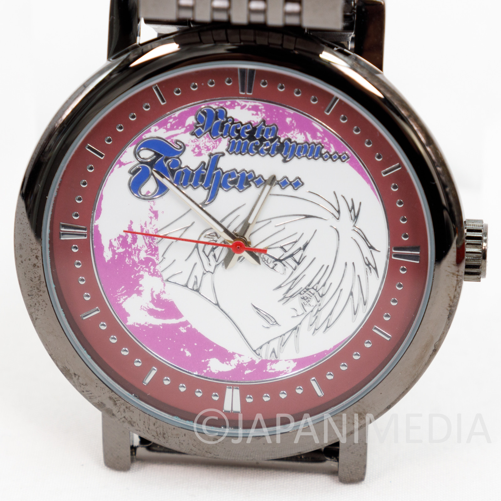 Evangelion Kaworu Nagisa Wrist Watch in Tin Can Box SEGA