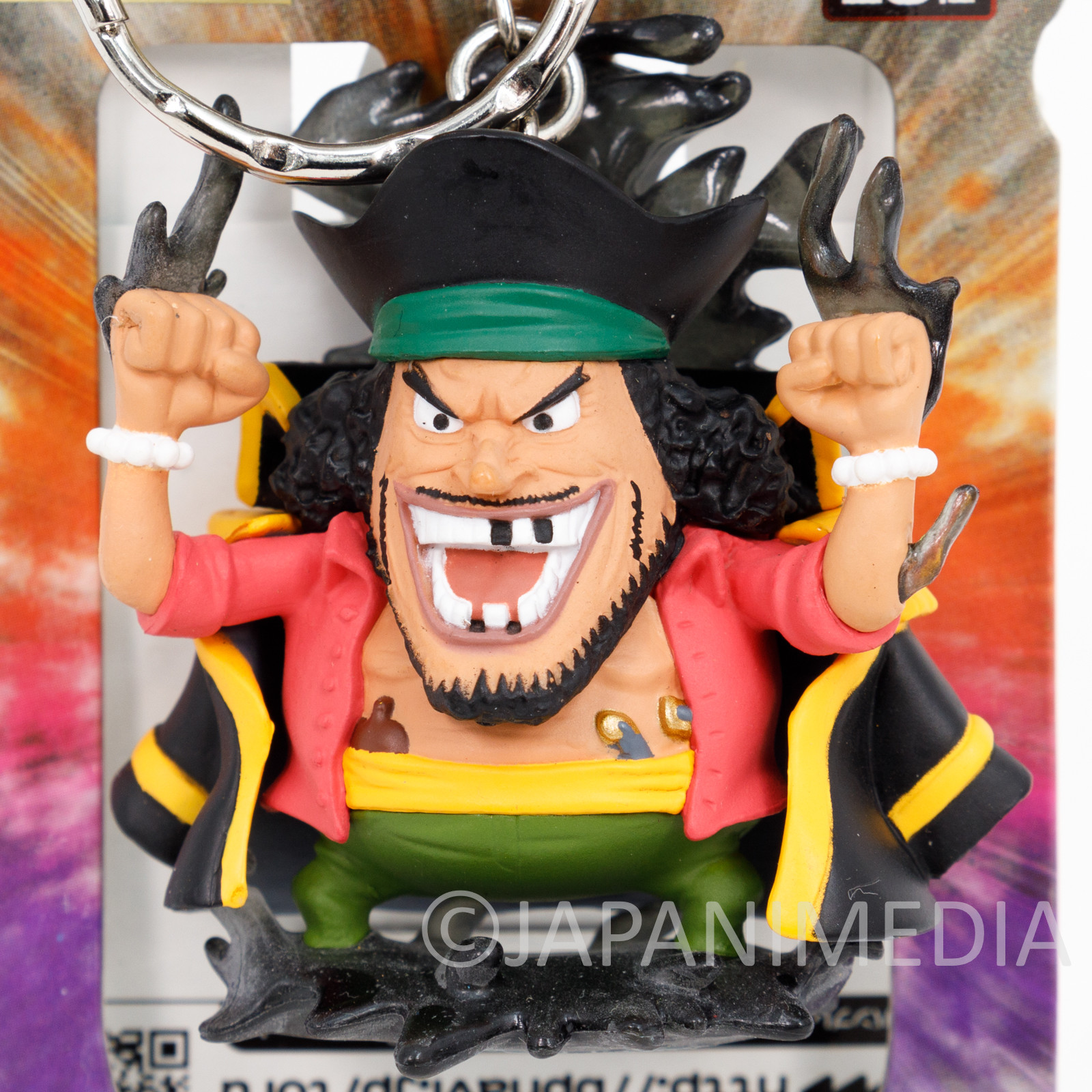 One Piece Marshall D. Teach Figure Keychain Banpresto JAPAN ANIME