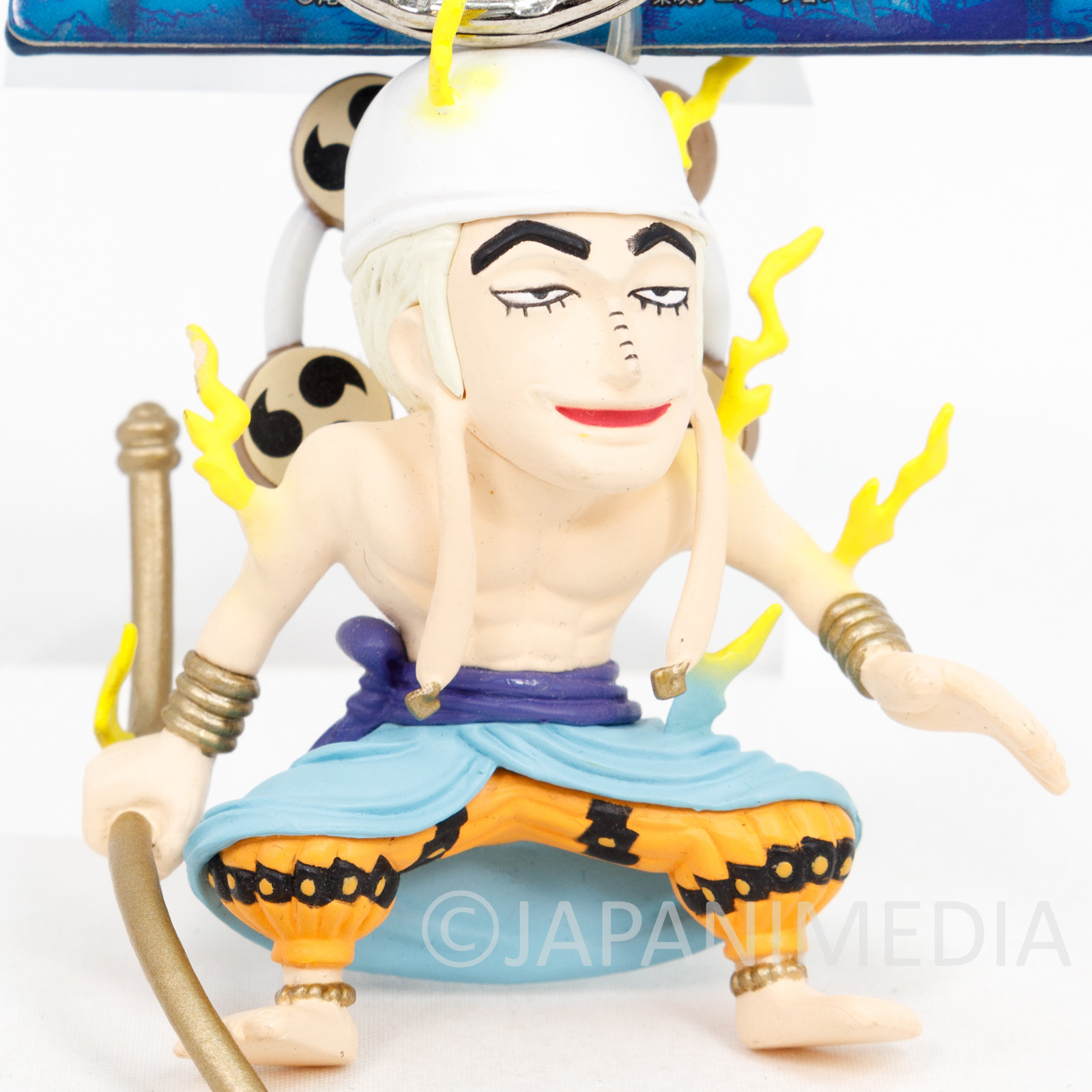 One Piece Enel Figure Keychain Banpresto JAPAN ANIME