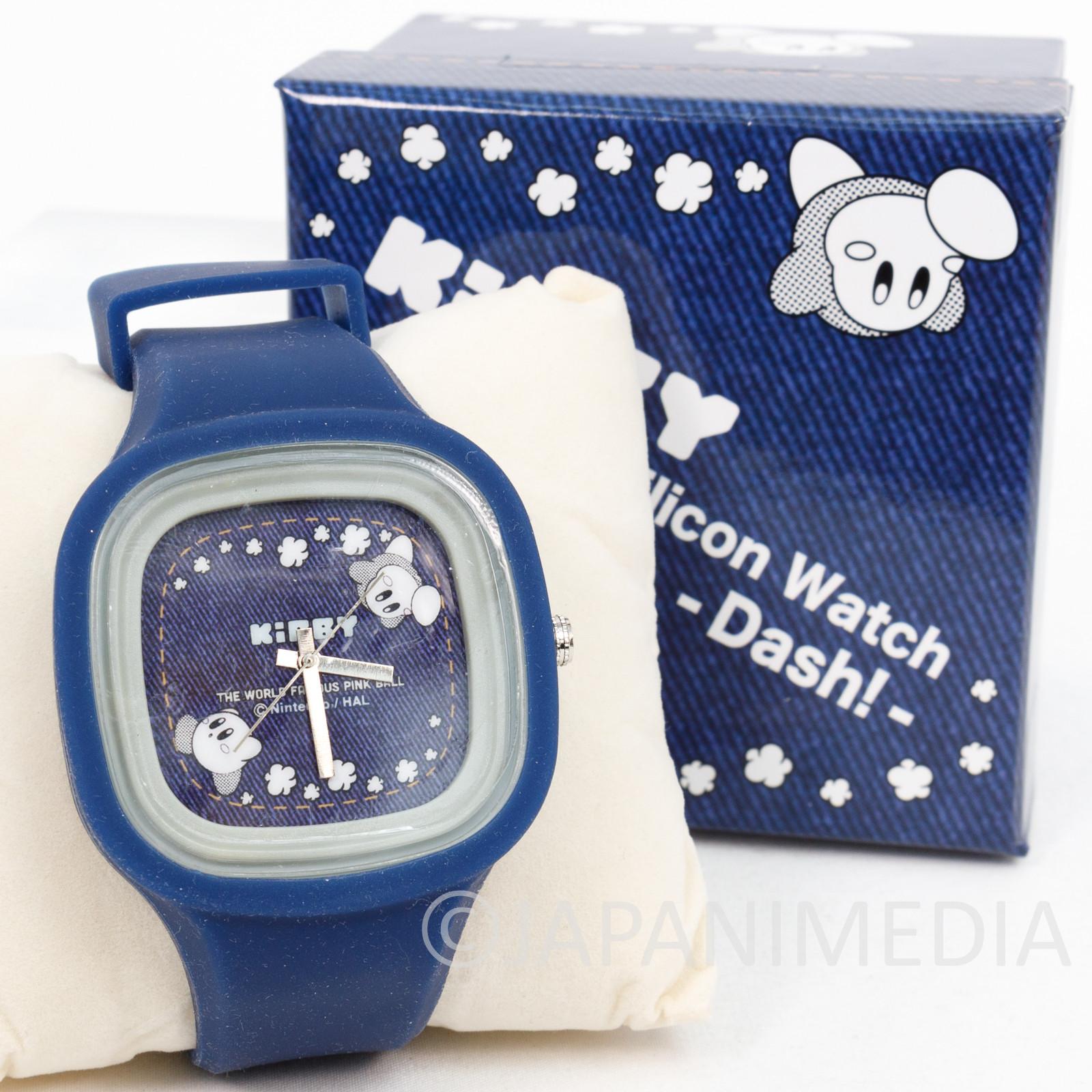 Kirby Super Star Silicon Wrist Watch JAPAN GAME NINTNEDO