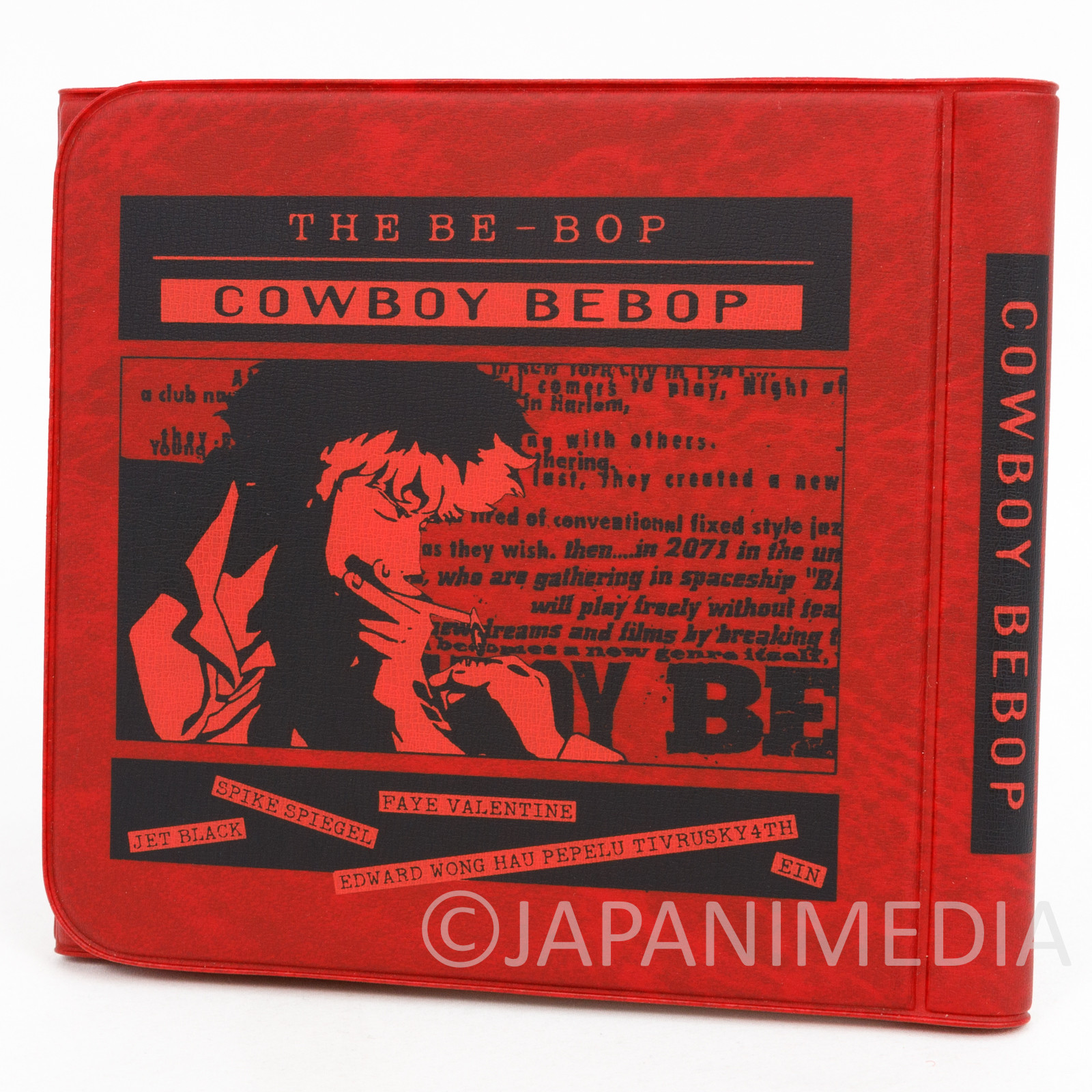 RARE Cowboy Bebop CD Disc Carrying Case JAPAN ANIME