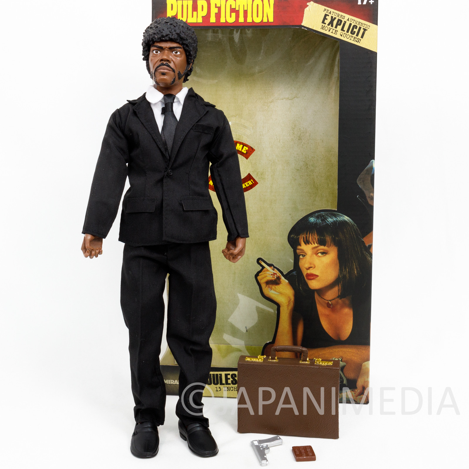 PULP FICTION Jules Winnfield 13 inch Talking Figure Miramax Samuel L. Jackson