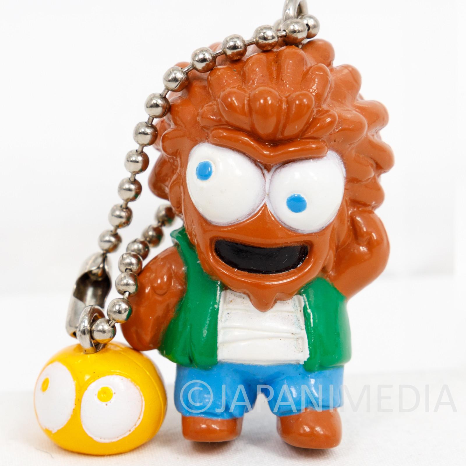 Retro RARE PUYO PUYO Zombie Figure Keychain JAPAN FAME SEGA