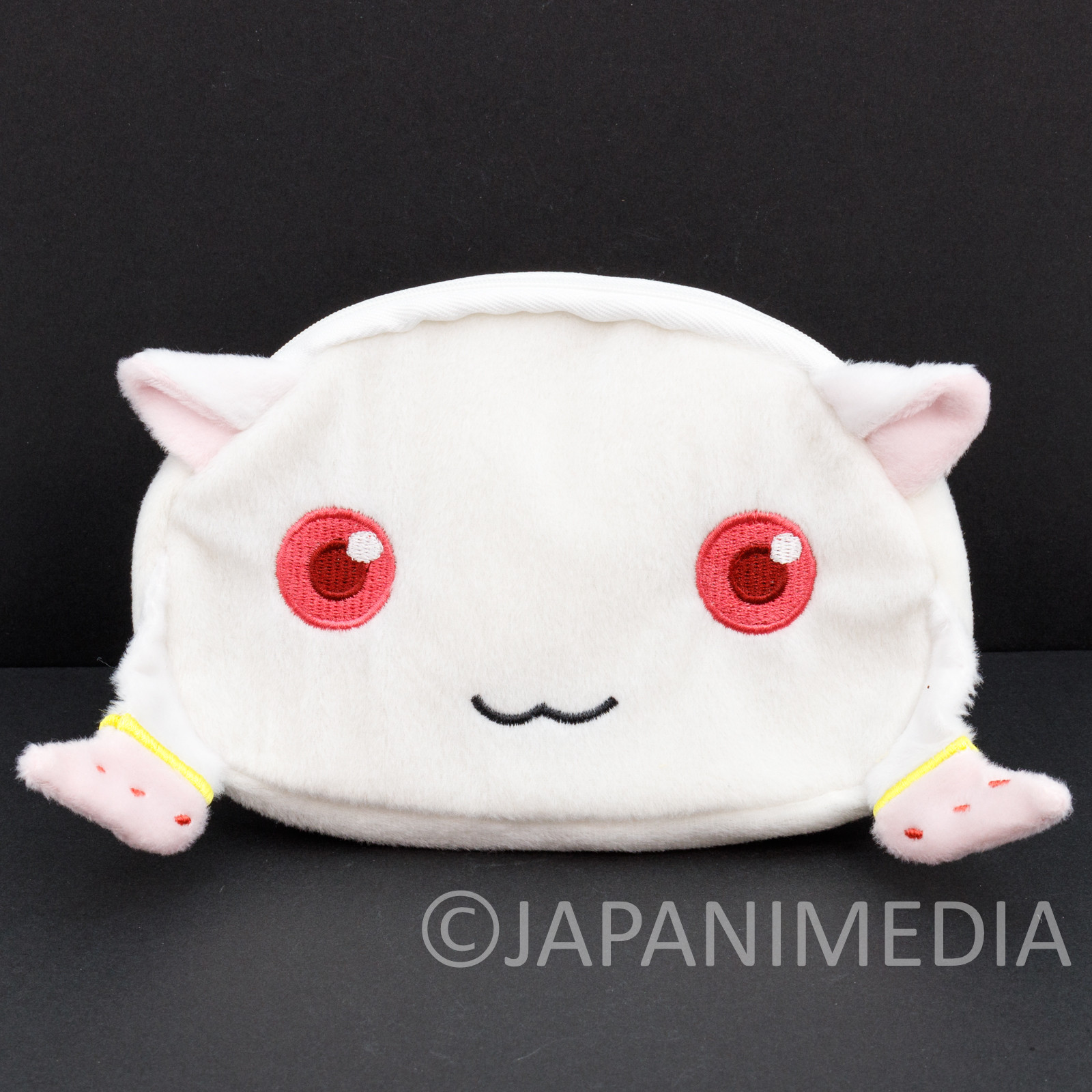 Puella Magi Madoka Magica Kyubey Face Type Pouch Case JAPAN ANIME