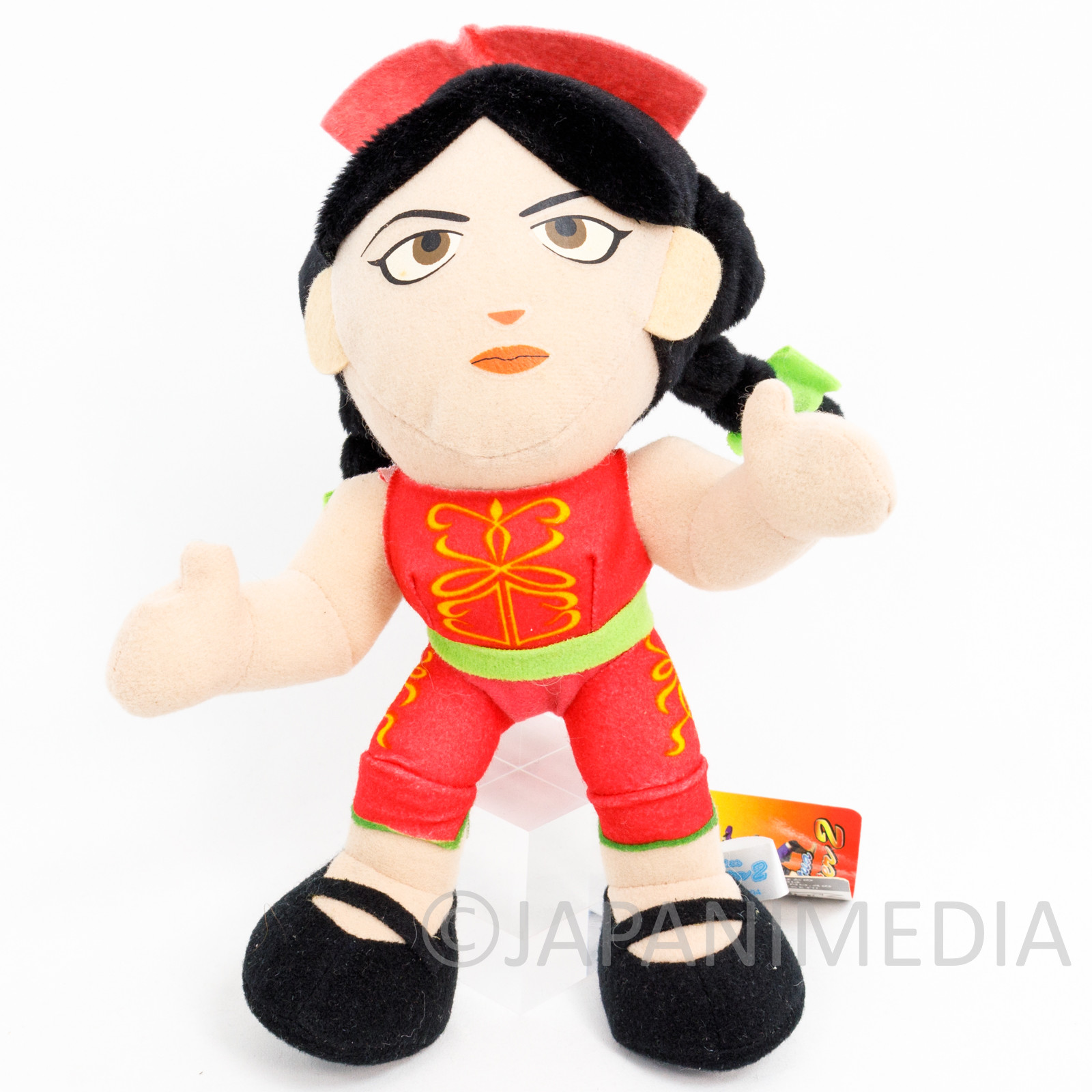 "Virtua Fighter Pai Chan Plush Doll 9"" SEGA 1994 JAPAN"