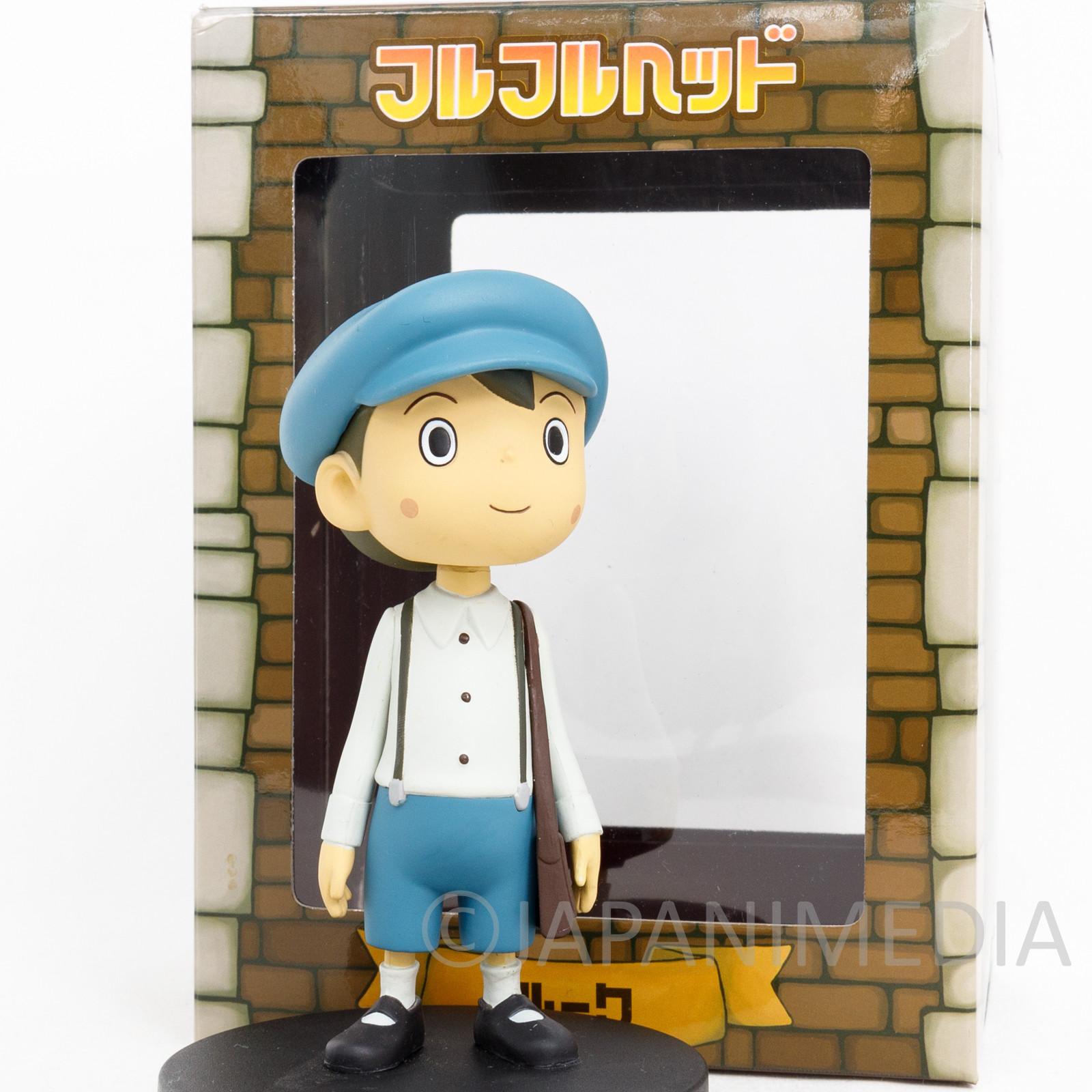 Professor Layton Luke Bobble Bobbin Head Figure Nintendo DS GAME JAPAN