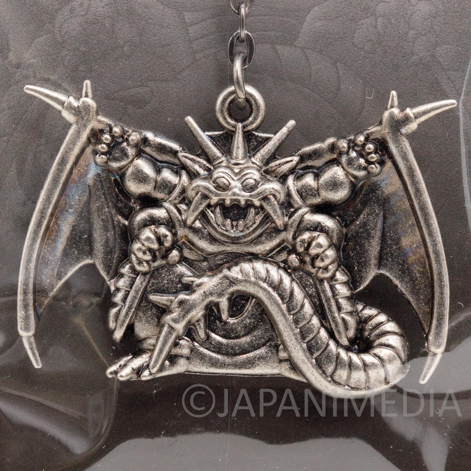 Dragon Quest Metal Charm Keychain Nizmo SQEX TOYS JAPAN WARRIOR