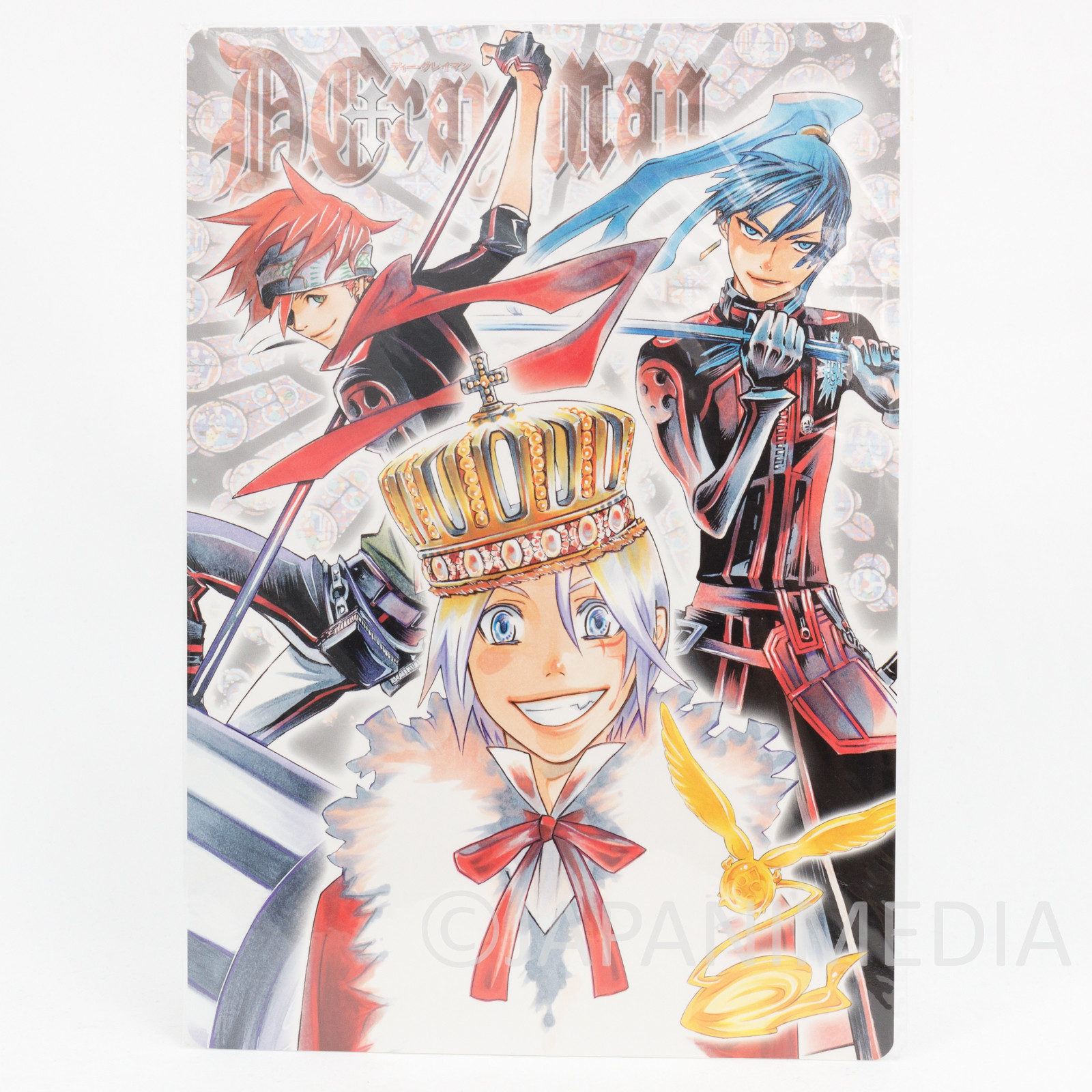 D.Gray-Man Allen Walker Yu Kanda Lavi Picture Pencil Board Pad Shitajiki