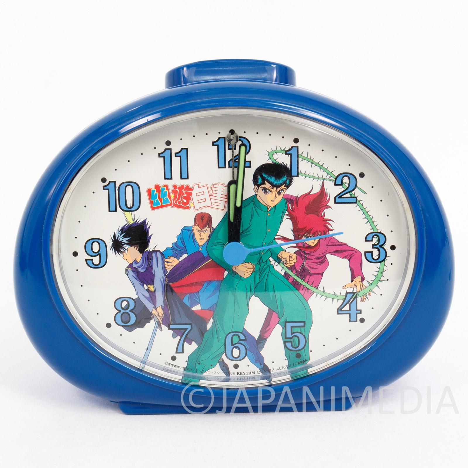 Yu Yu Hakusho Alarm Clock Yusuke Hiei Kurama Kuwabara JAPAN ANIME