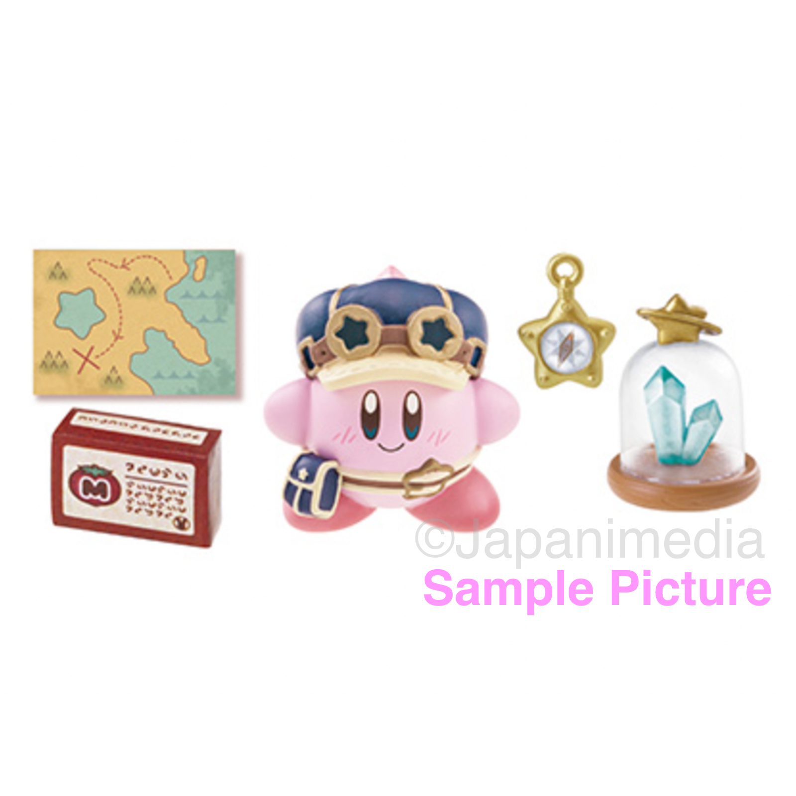 Kirby Super Star Dreamy Gear Mini Figure #1 Kirby ver. NINTNEDO