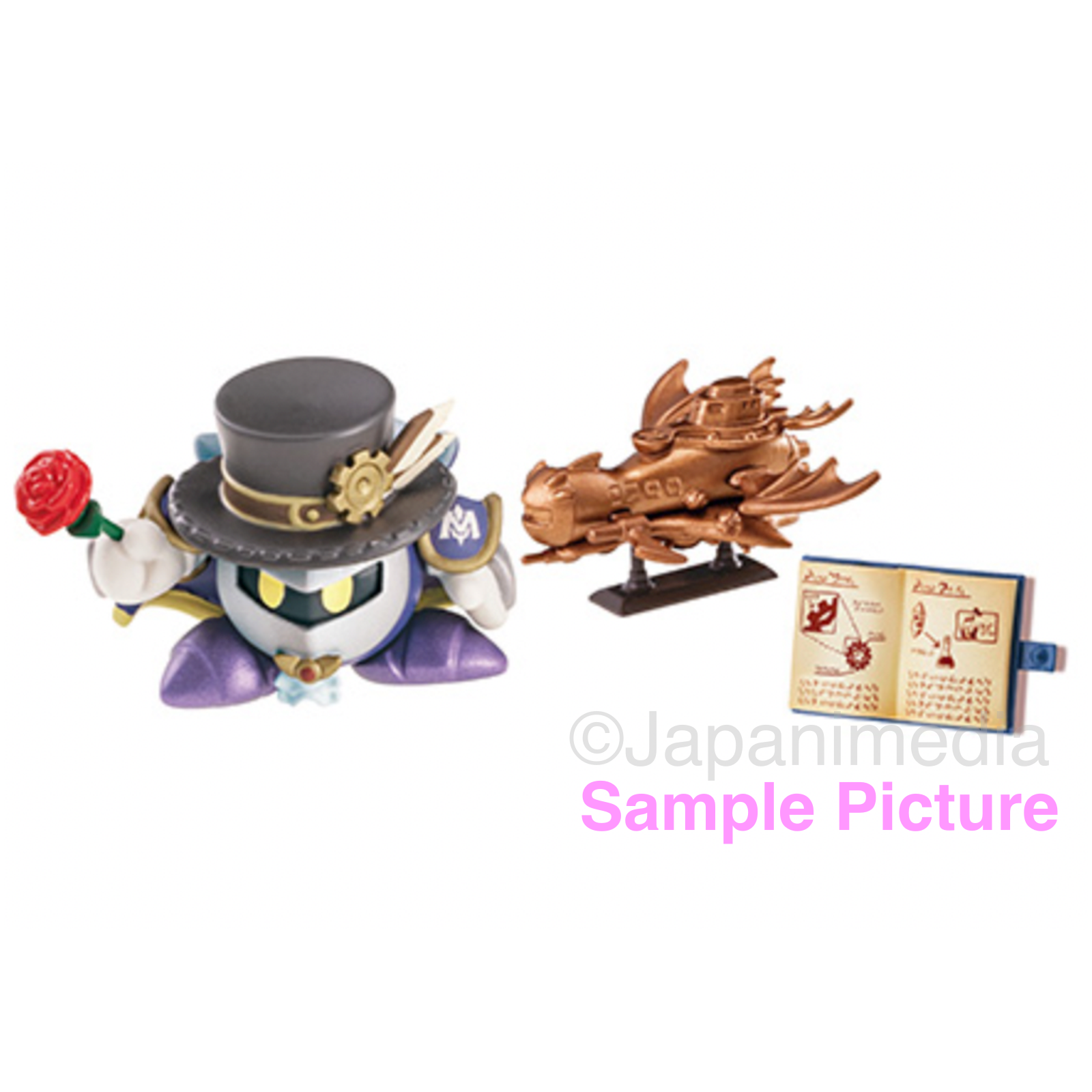 Kirby Super Star Dreamy Gear Mini Figure #3 Meta Knight ver. NINTNEDO