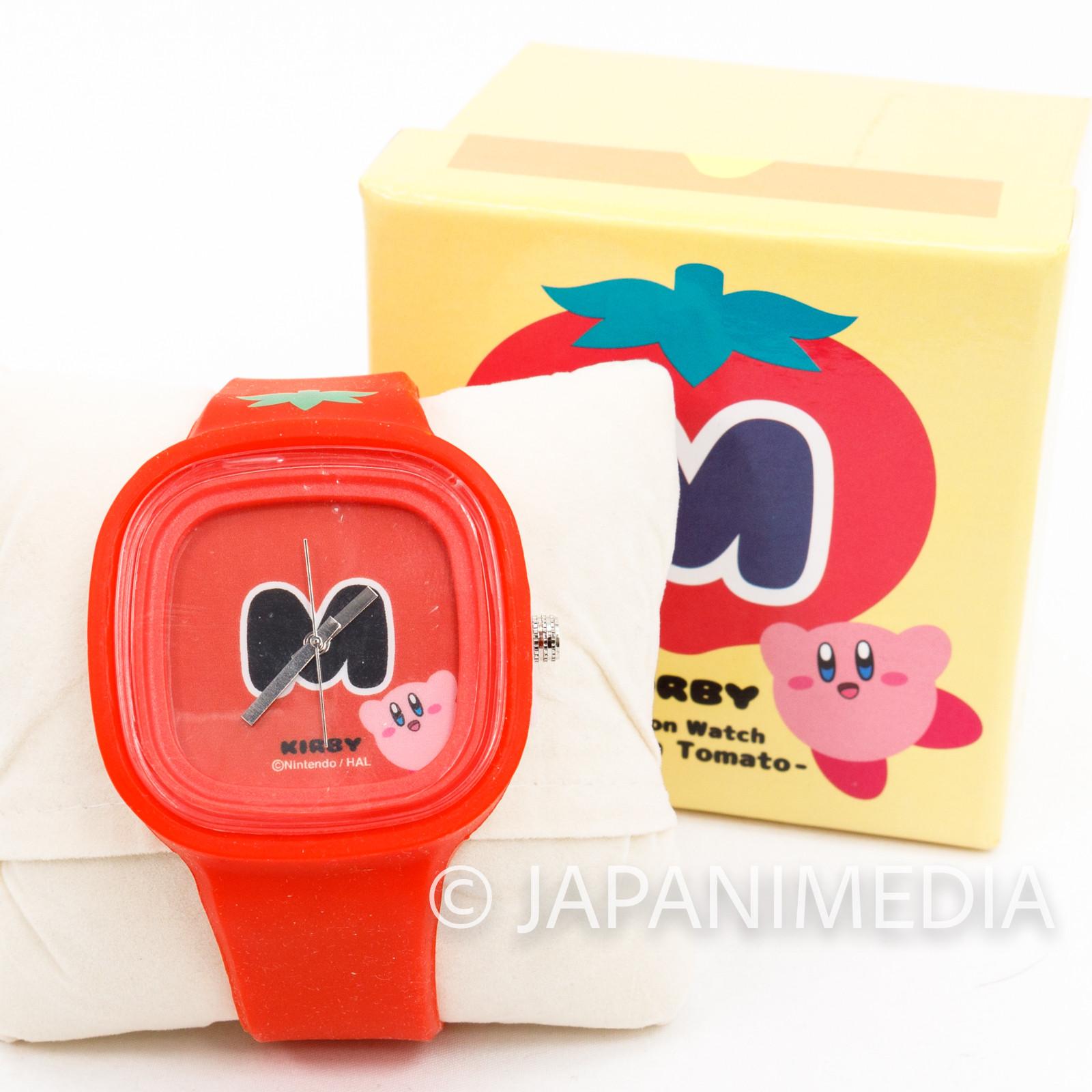 Kirby Super Star Silicon Wrist Watch JAPAN GAME NINTNEDO 2