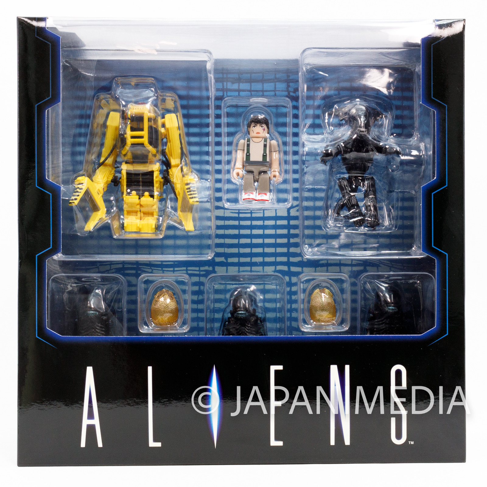 ALIENS Kubrick Figure Box Set Power Loader RIPLEY QUEEN & WARRIOR Medicom Toy
