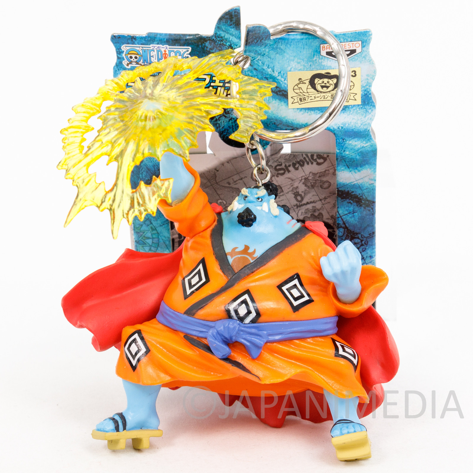 One Piece Jinbe Figure Keychain Banpresto JAPAN ANIME