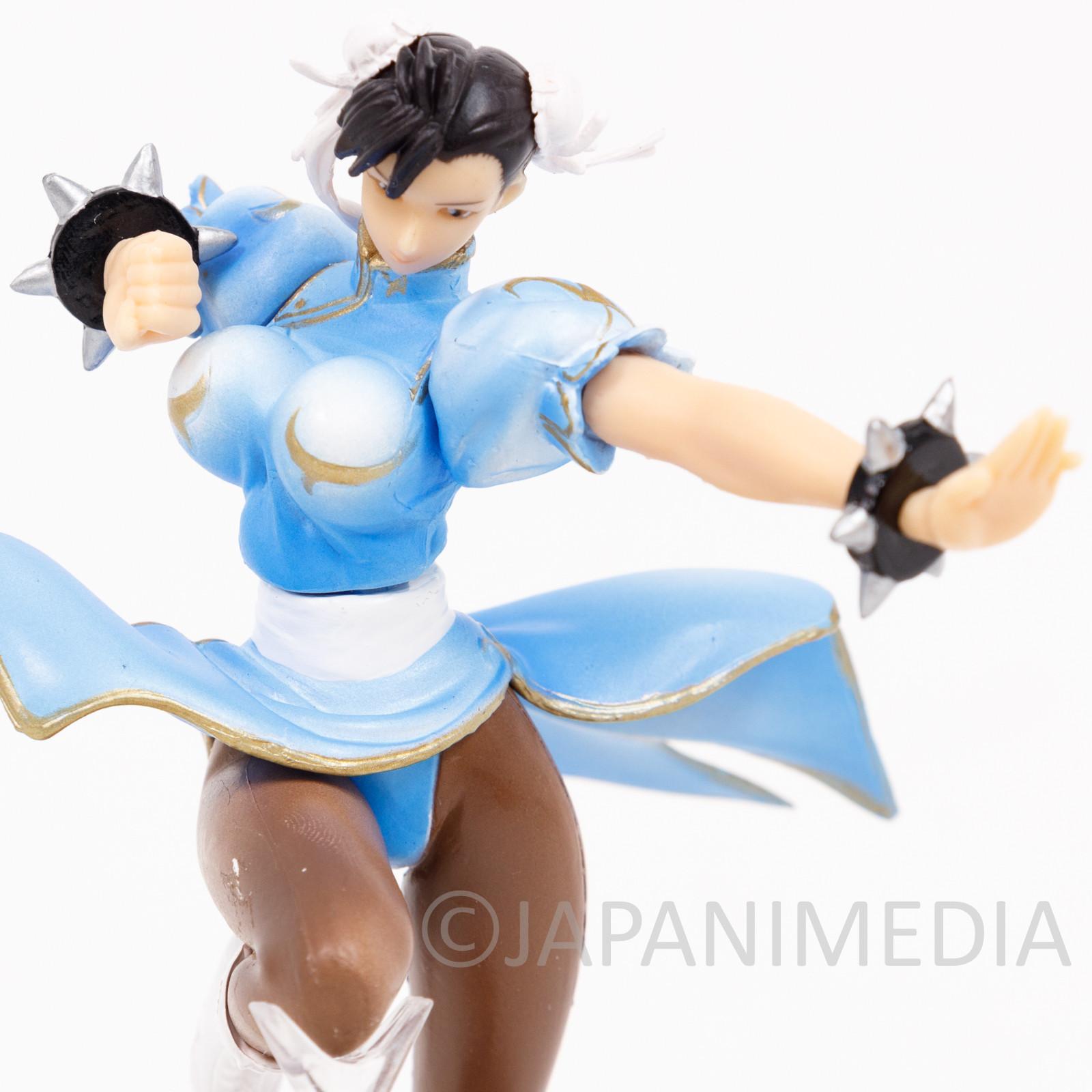 Street Fighter 2 Chun-Li Blue ver Capcom Figure Collection JAPAN GAME 2