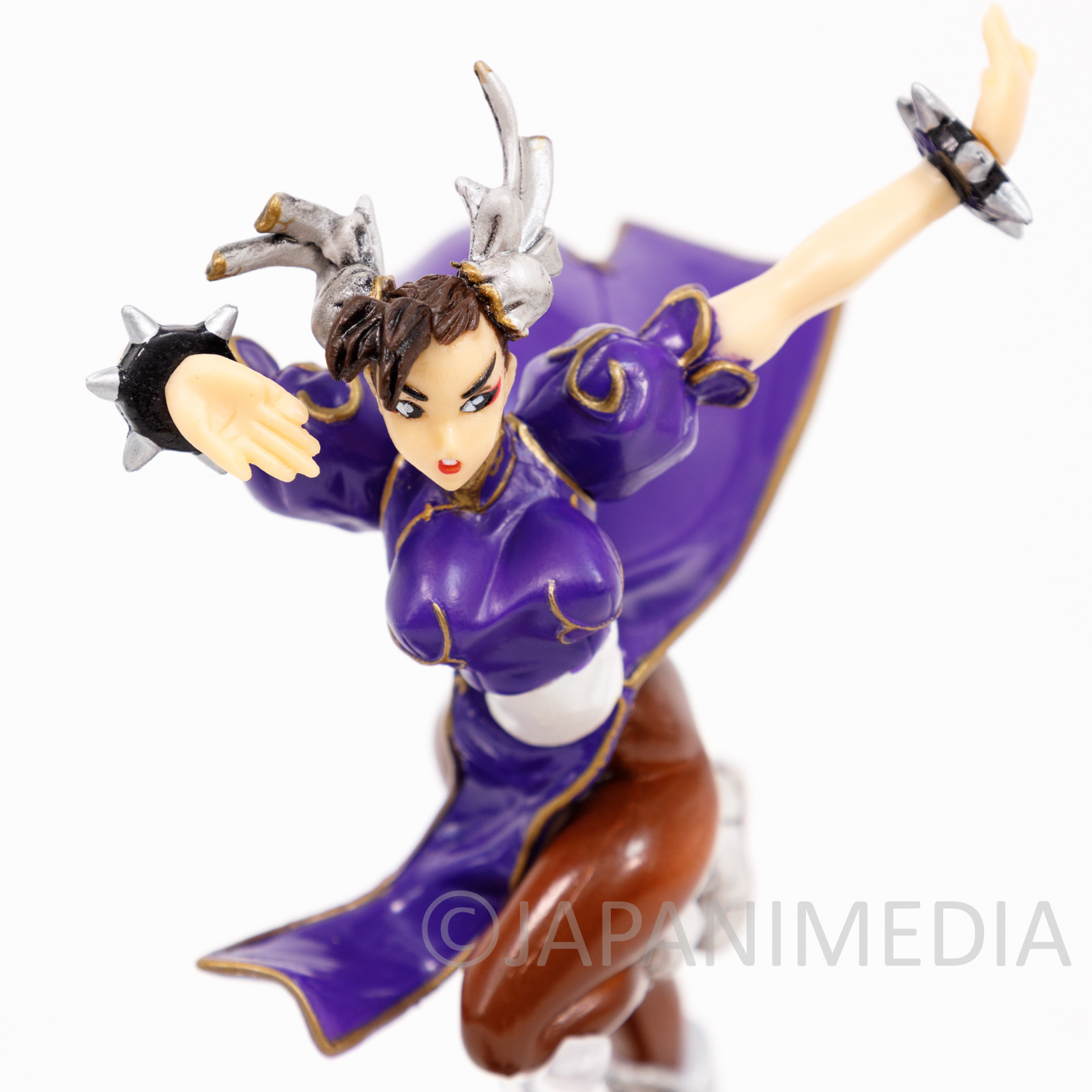Street Fighter 2 Chun-Li Purple ver Capcom Figure Collection JAPAN GAME