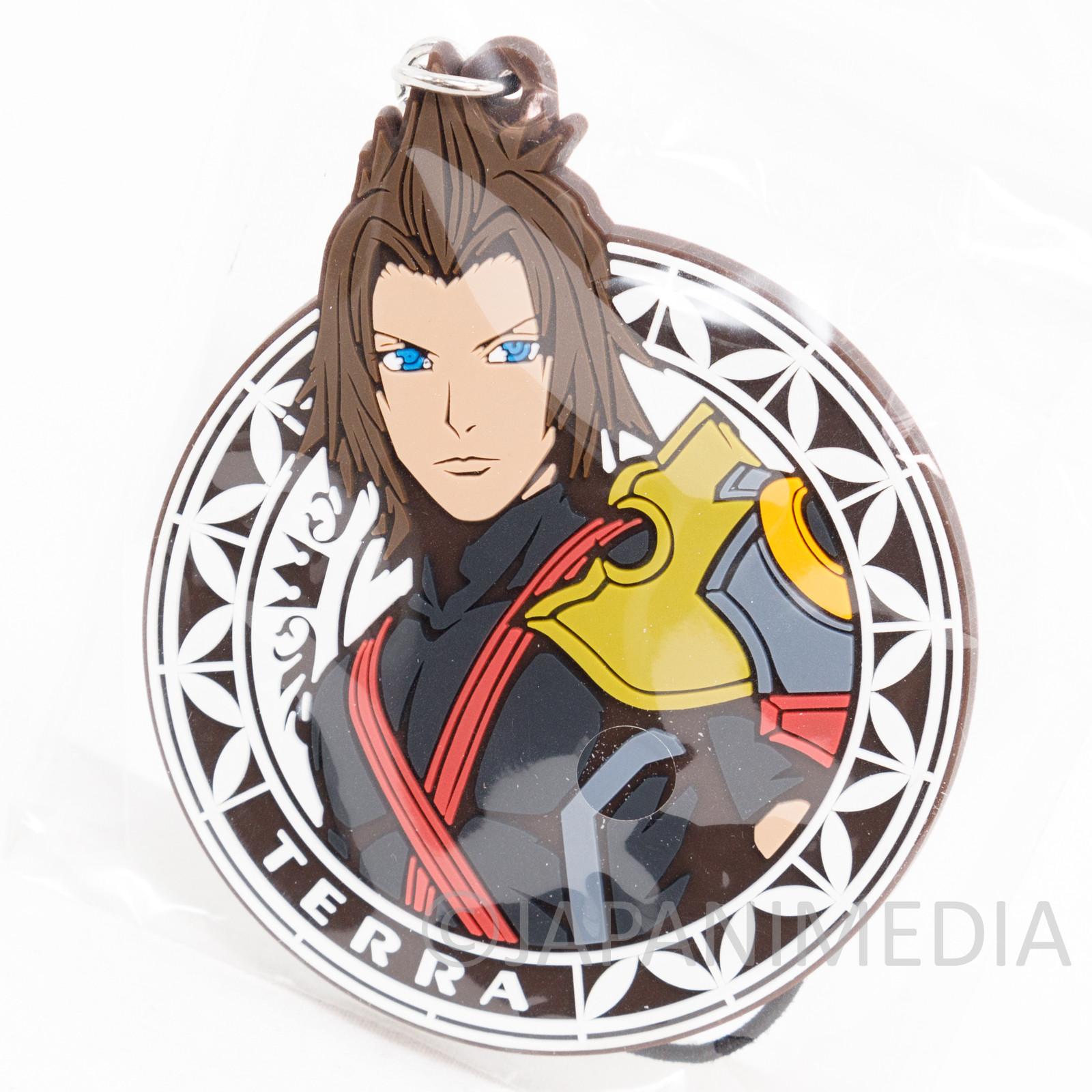 Kingdom Hearts TERRA Mascot Rubber Strap Square Enix JAPAN