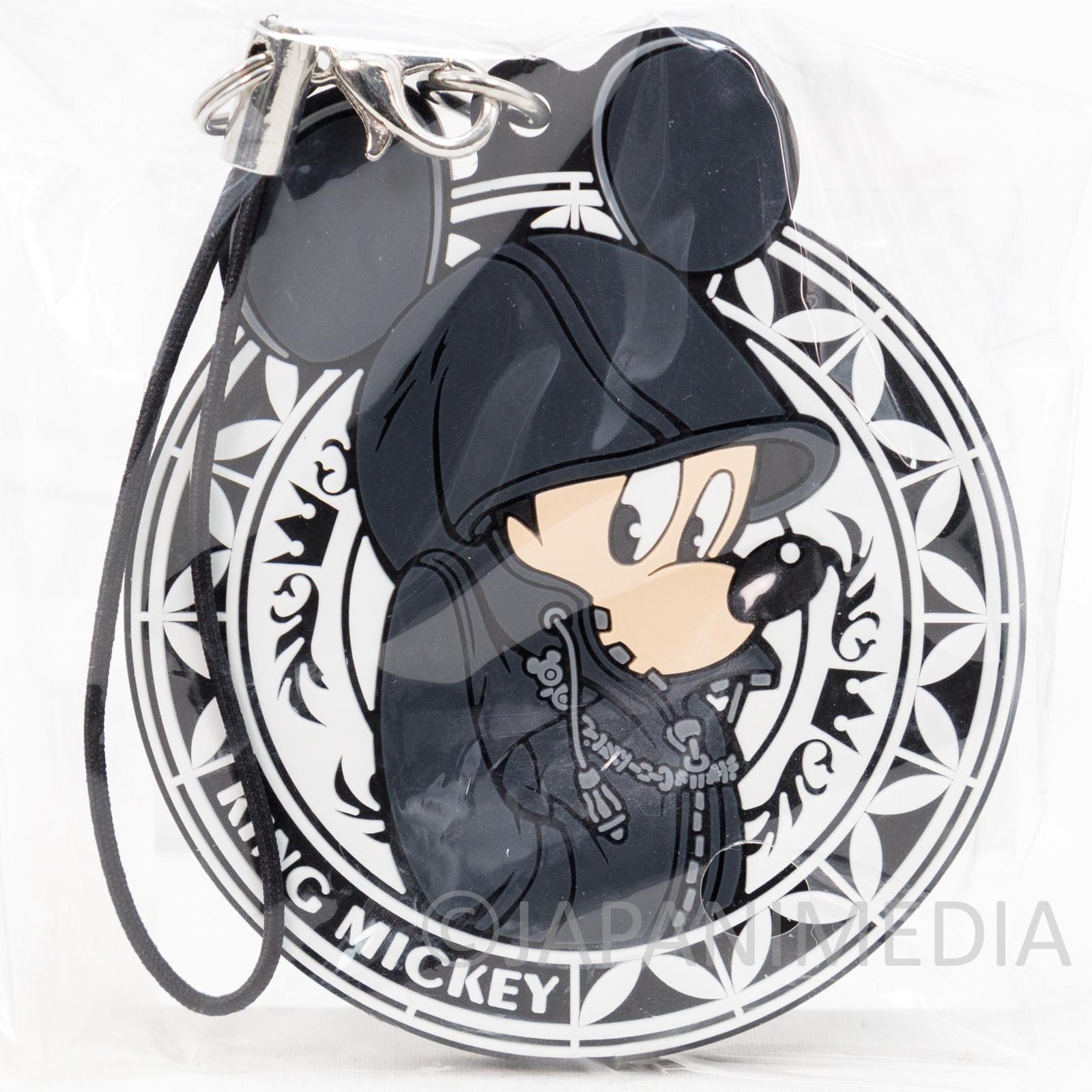 Kingdom Hearts KING MICKEY Mascot Rubber Strap Square Enix JAPAN