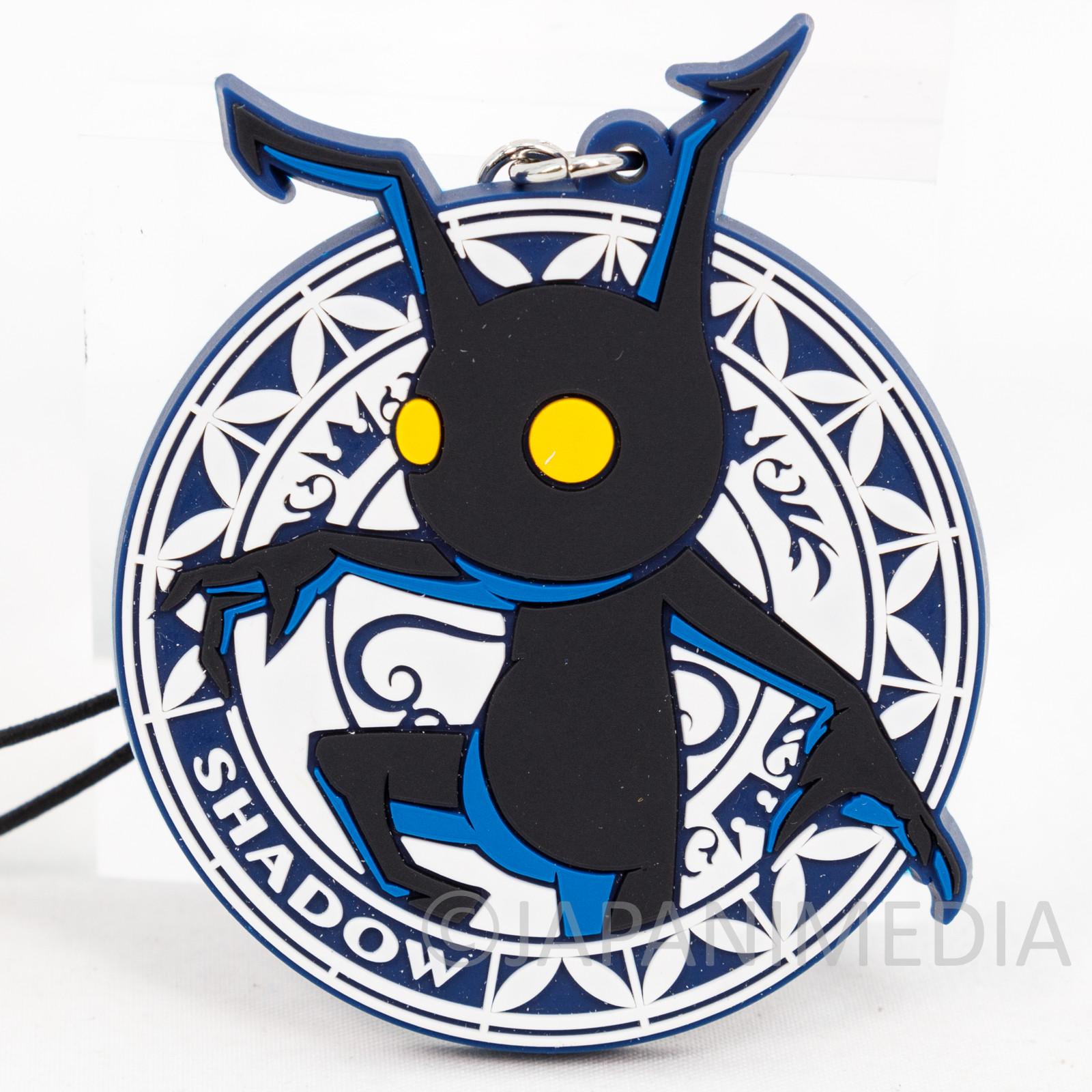 Kingdom Hearts SHADOW Mascot Rubber Strap Square Enix JAPAN