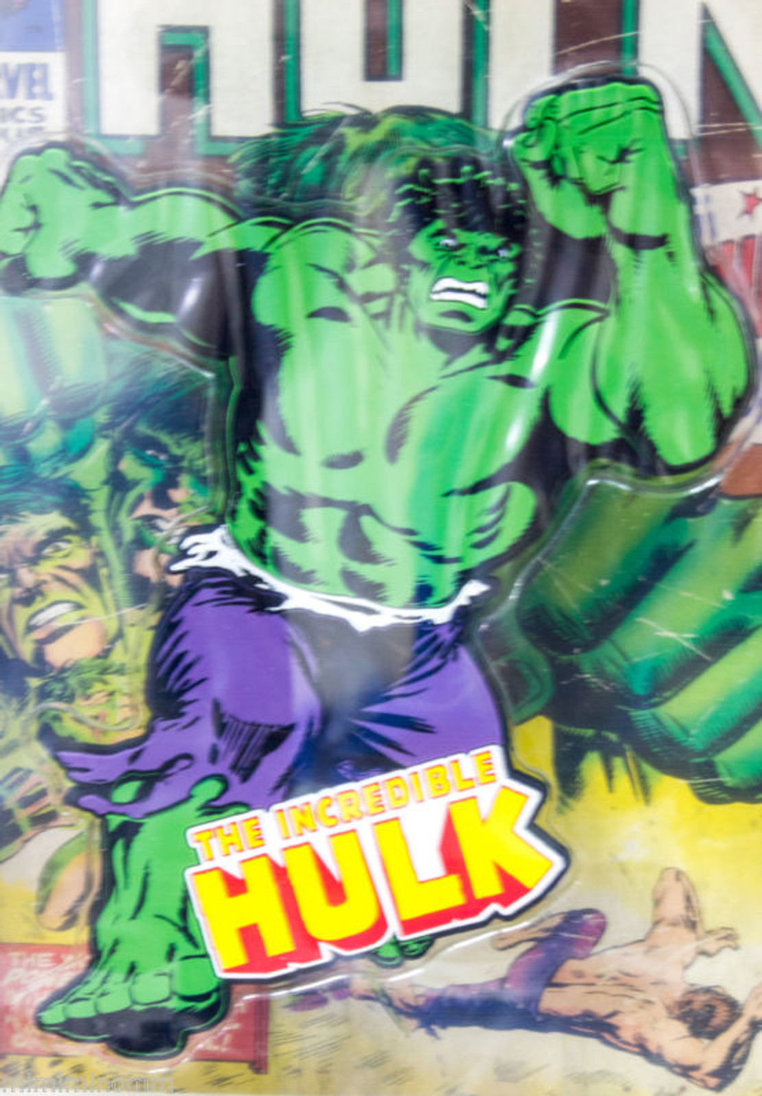 Marvel Rubber Magnet Incredible HULK Banpresto JAPAN ANIME COMICS