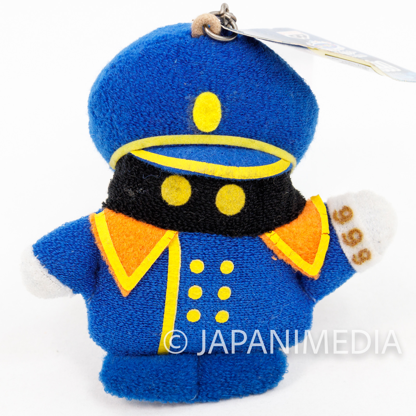 Galaxy Express 999 Conductor Plush Doll Figure Keychain Banpresto