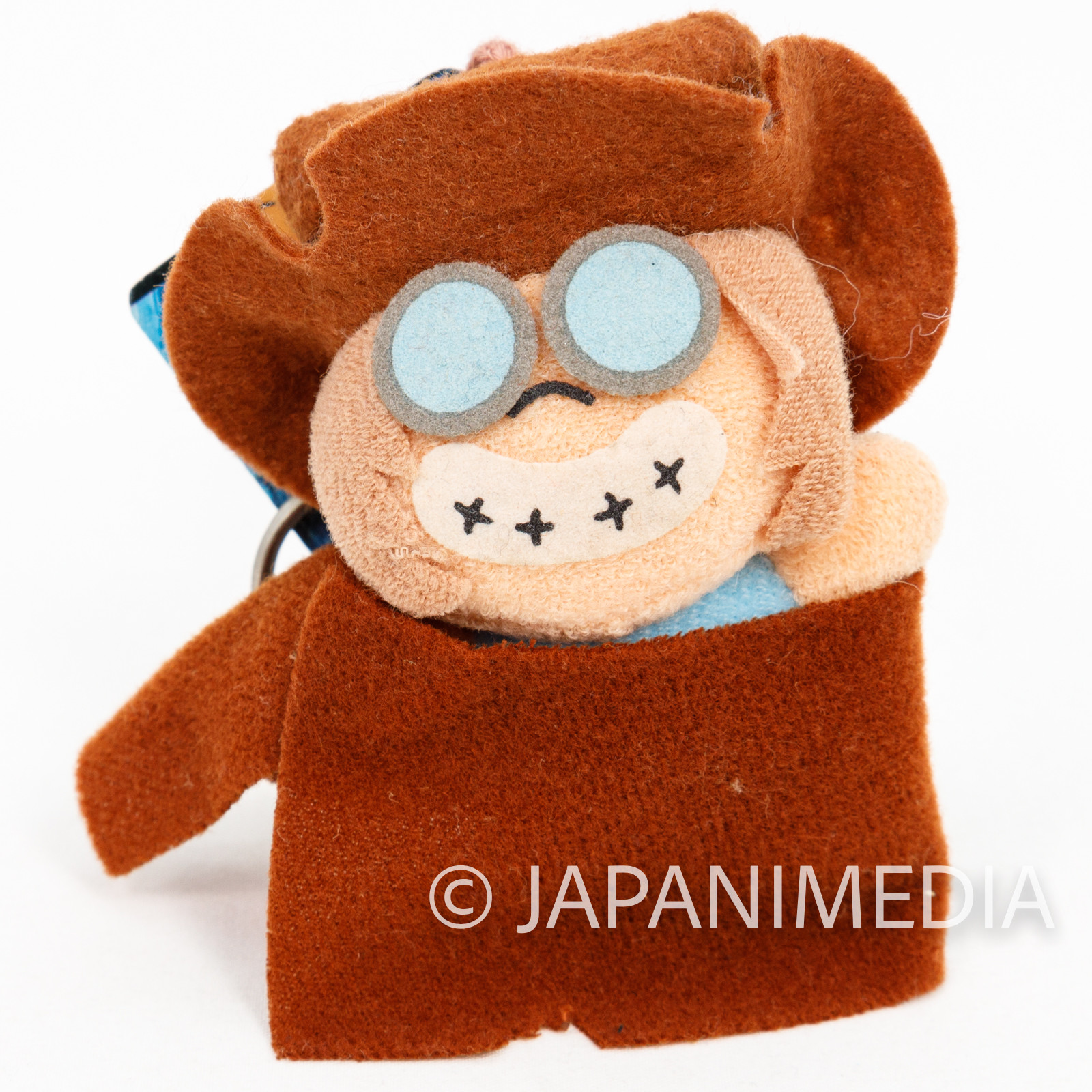 Galaxy Express 999 Tochiro Plush Doll Figure Keychain Banpresto