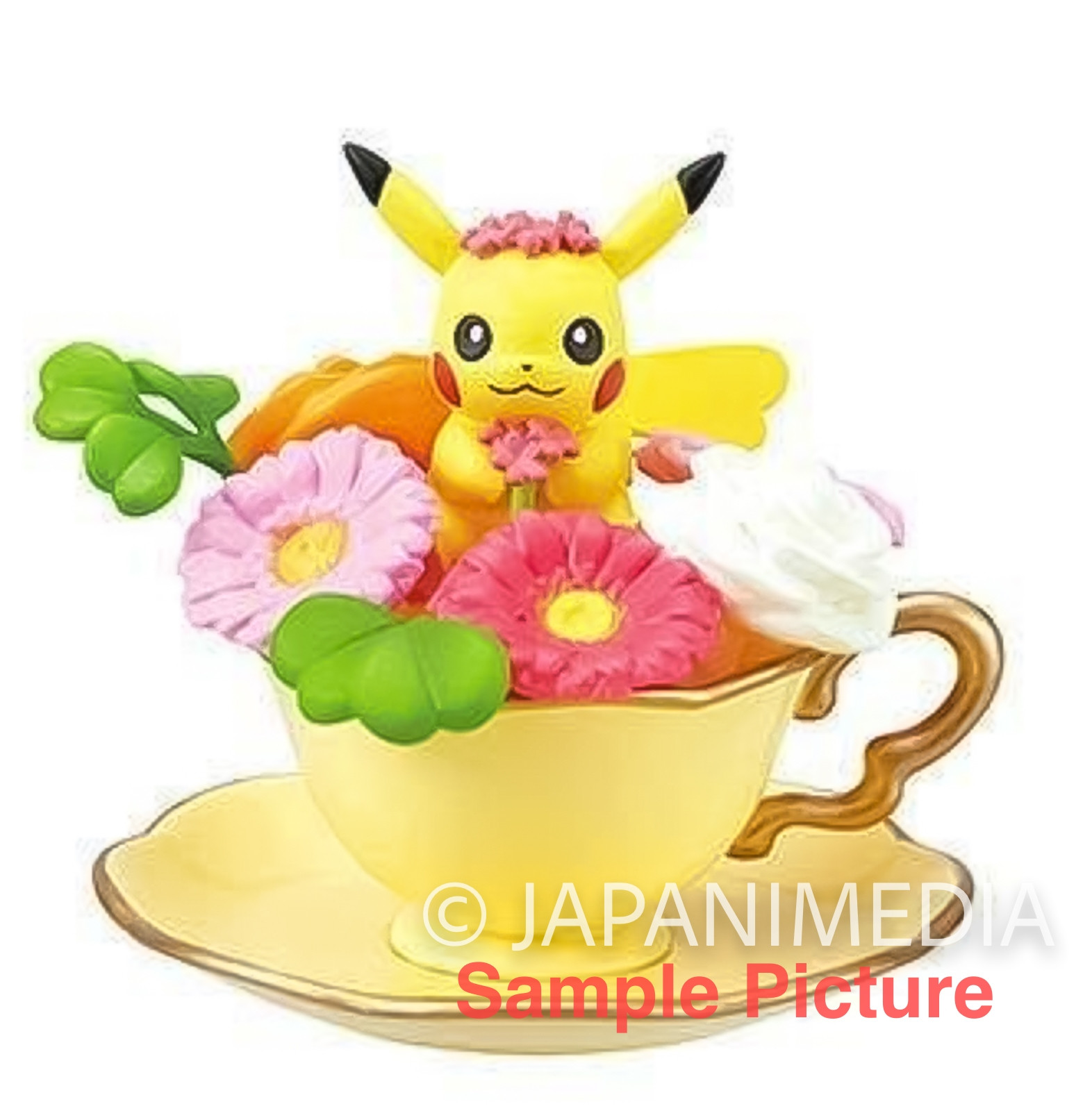 Pokemon Floral Cup Collection Mini Figure PIKACHU Re-ment JAPAN ANIME