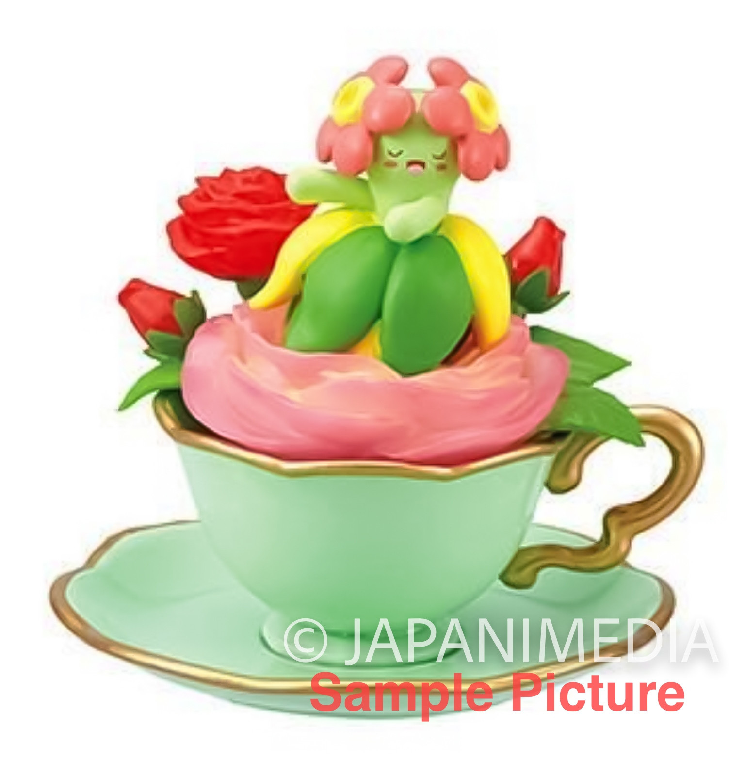 Pokemon Floral Cup Collection Mini Figure BELLOSSOM Re-ment JAPAN ANIME