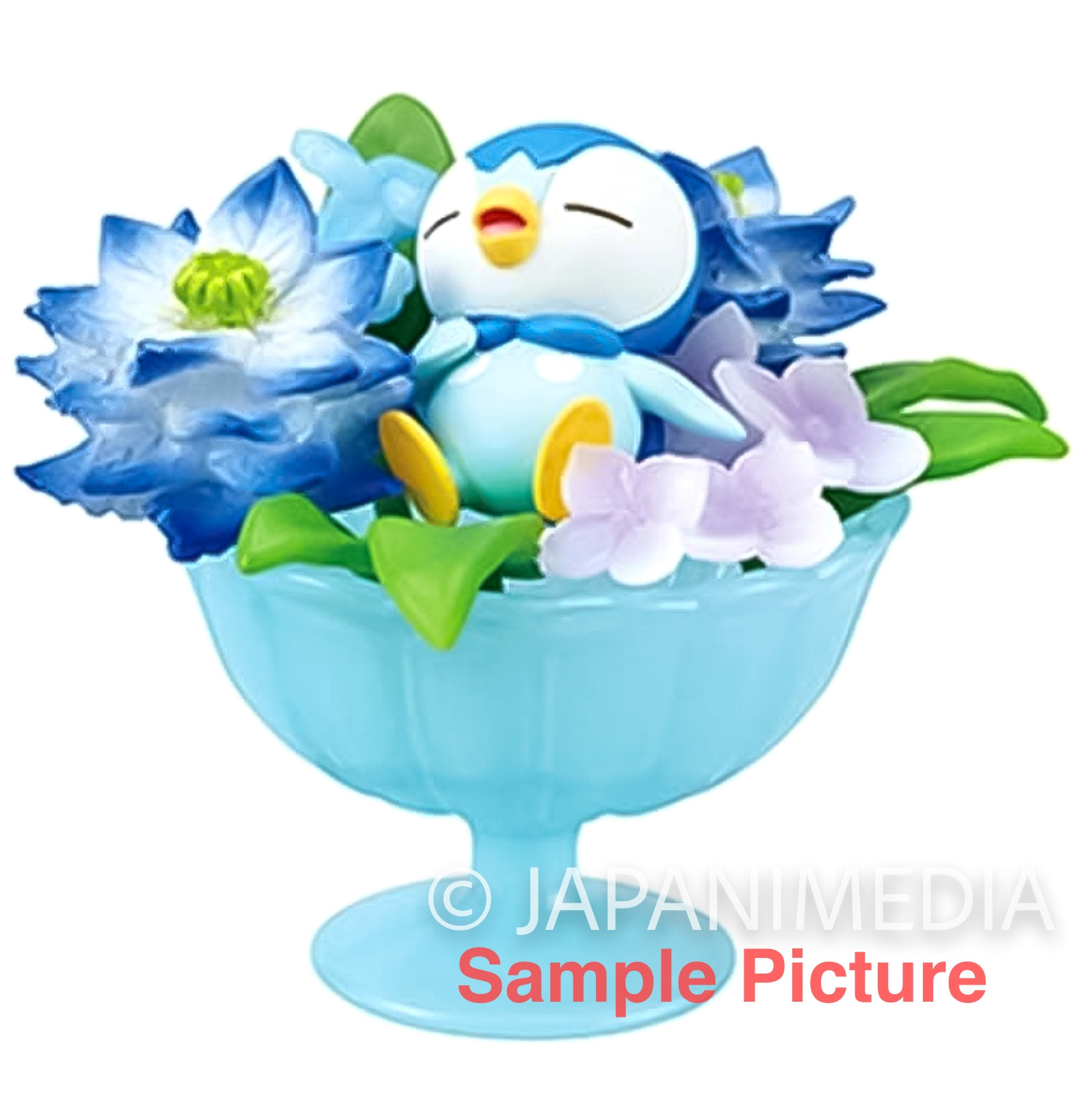 Pokemon Floral Cup Collection Mini Figure PIPLUP Re-ment JAPAN ANIME