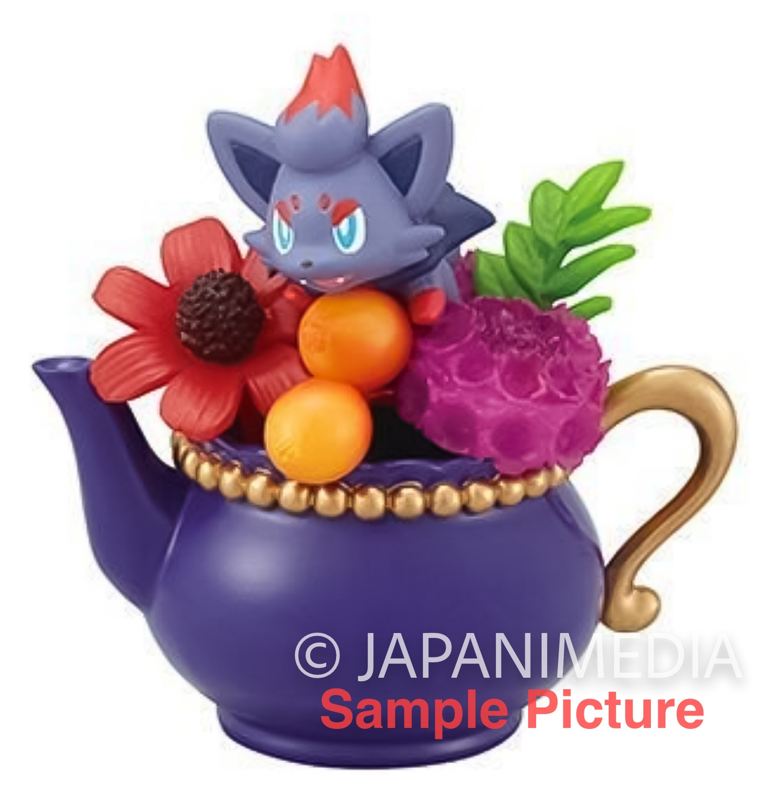 Pokemon Floral Cup Collection Mini Figure ZORUA Re-ment JAPAN ANIME