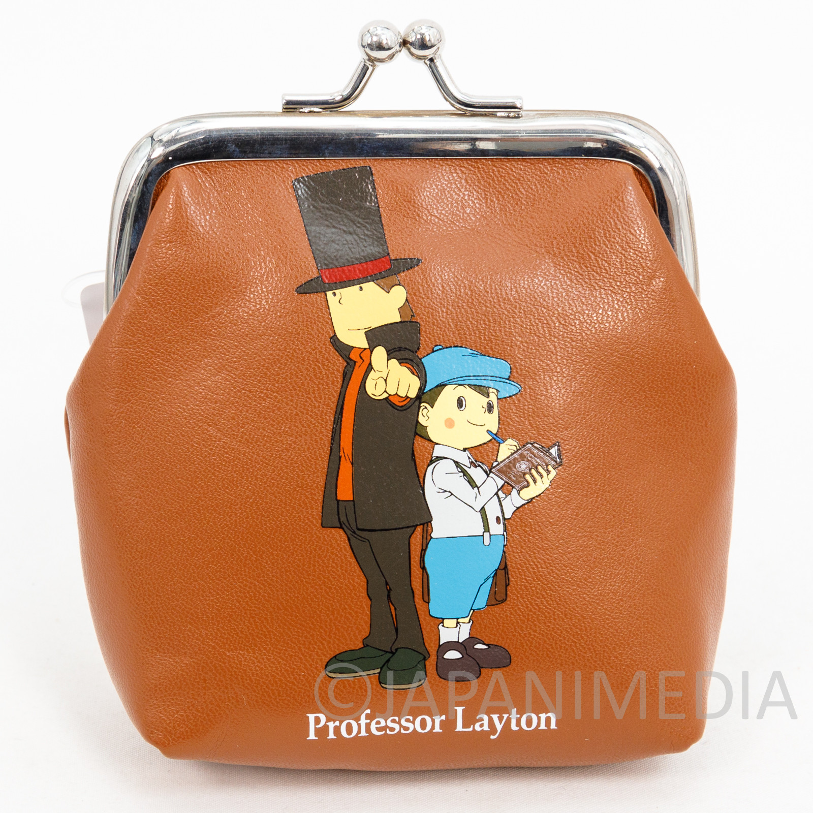 Professor Layton Coin Case Purse Nintendo DS GAME JAPAN