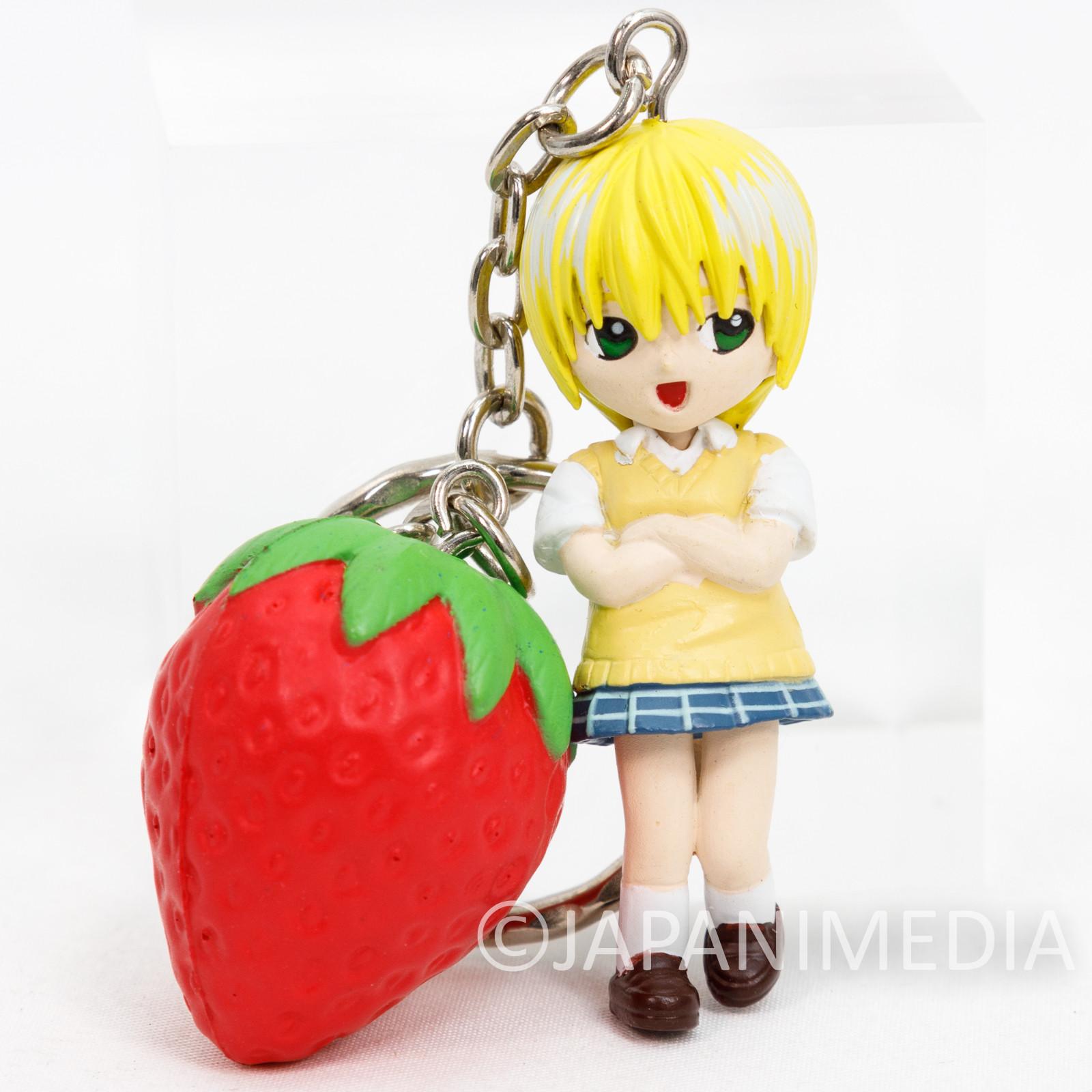 Strawberry Ichigo 100% Tsukasa Nishino Figure Keychain JAPAN ANIME MANGA