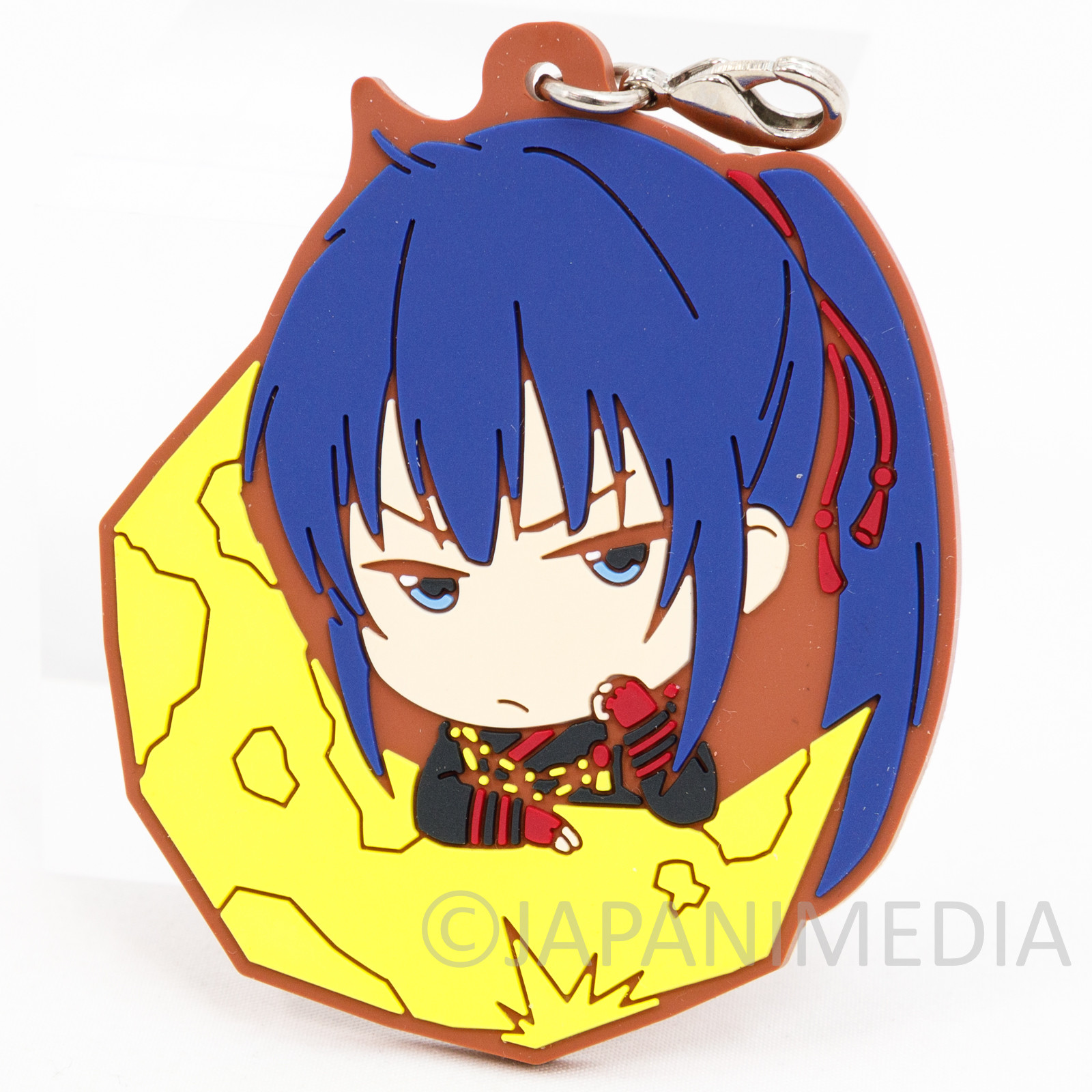 D.Gray-Man Hallow Yu Kanda Rubber Mascot Charm Shonen Jump JAPAN ANIME
