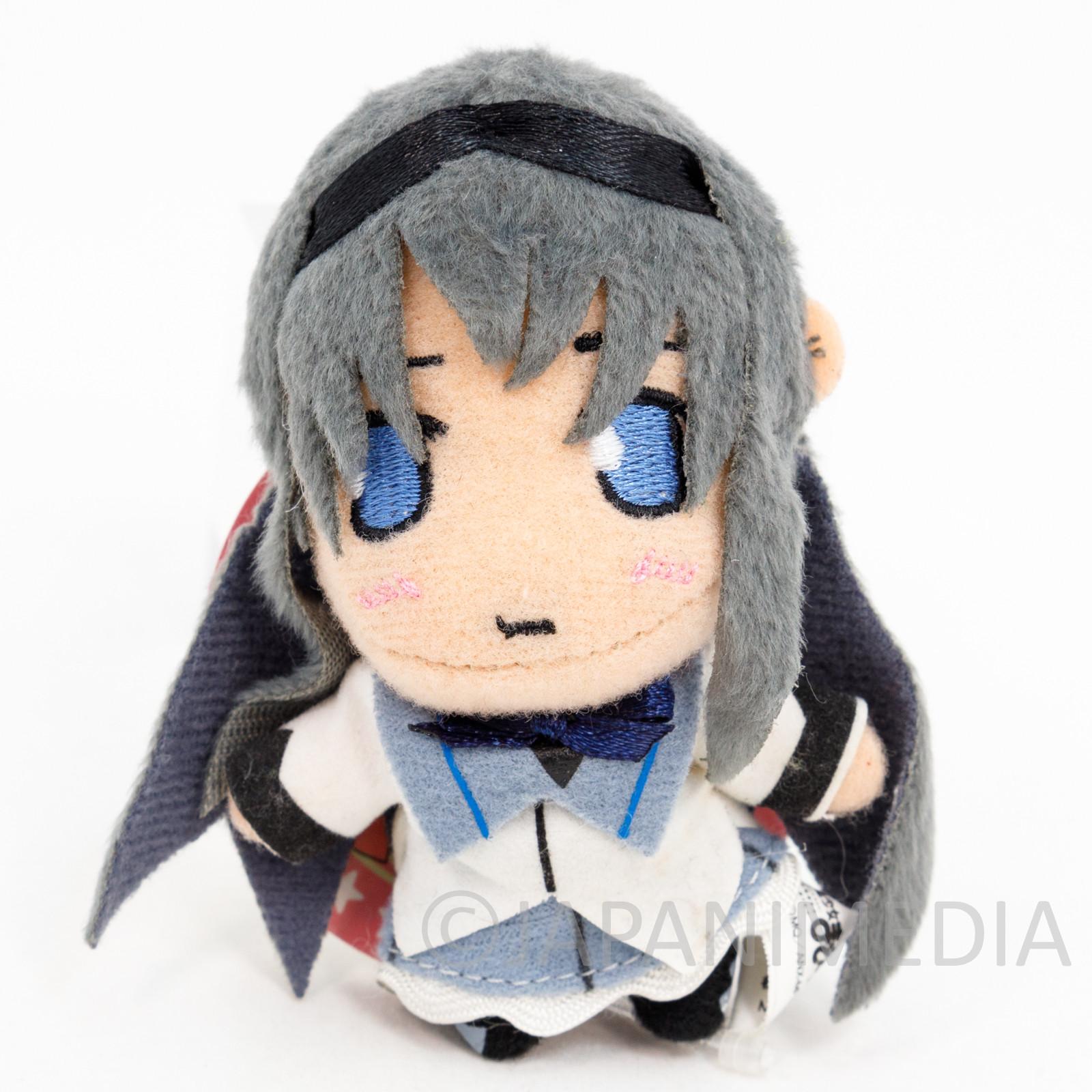 Puella Magi Magica Madoka Homura Akemi Mascot Plush Doll Ballchain JAPAN ANIME
