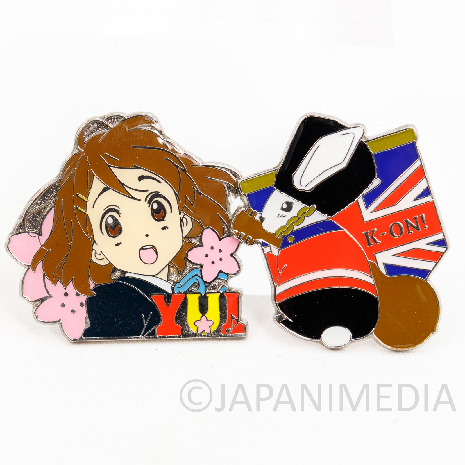 K-ON! Yui Hirasawa Metal Pins JAPAN KYOTO ANIMATION