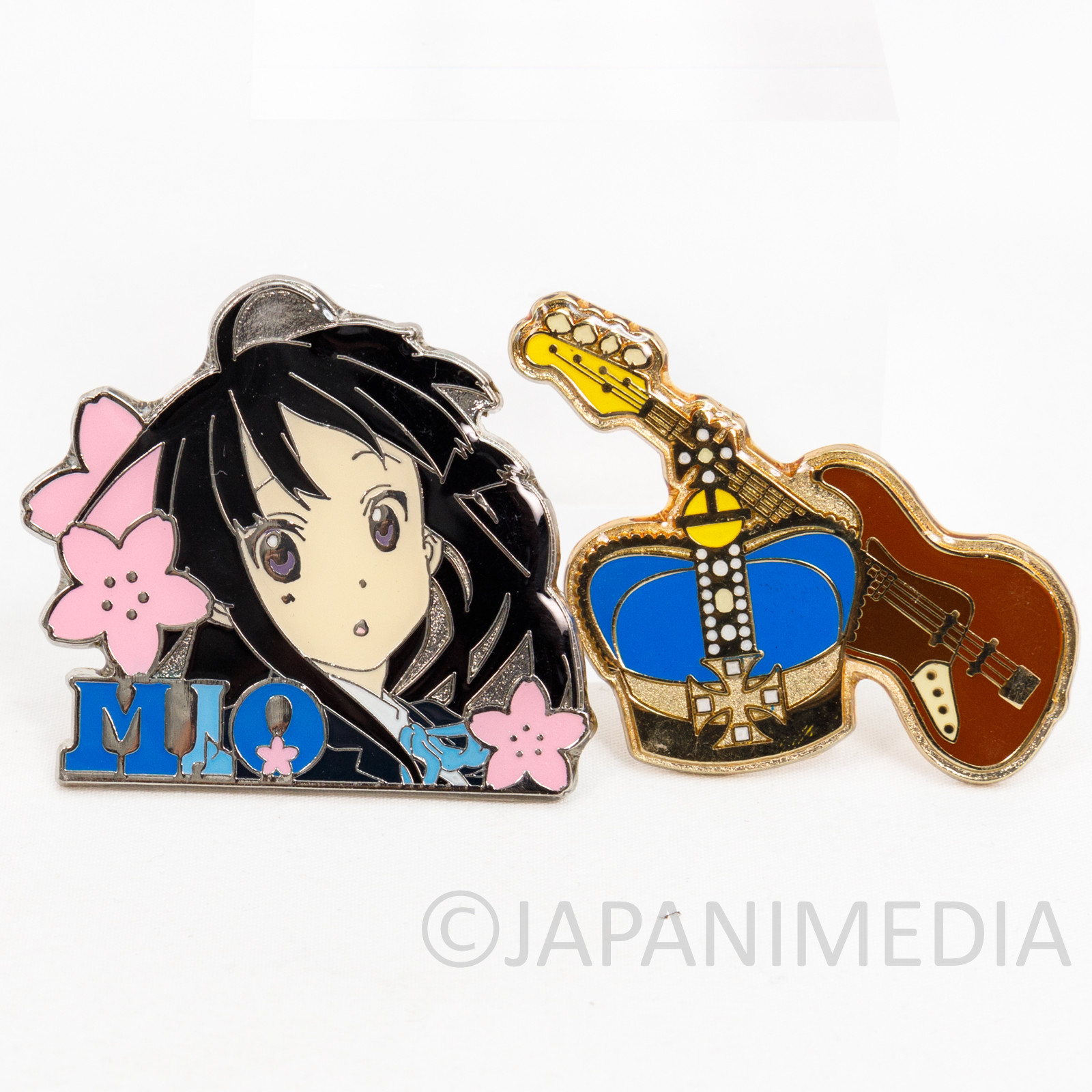 K-ON! Mio Akiyama Metal Pins JAPAN KYOTO ANIMATION