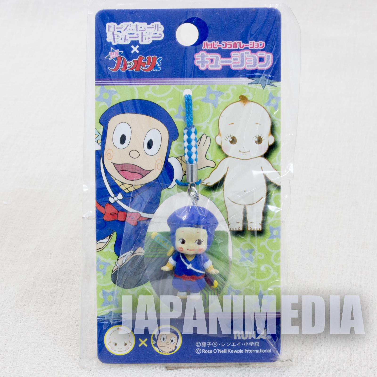 Ninja Hattori Kun Rose O'neill Kewpie Kewsion Figure Strap JAPAN ANIME
