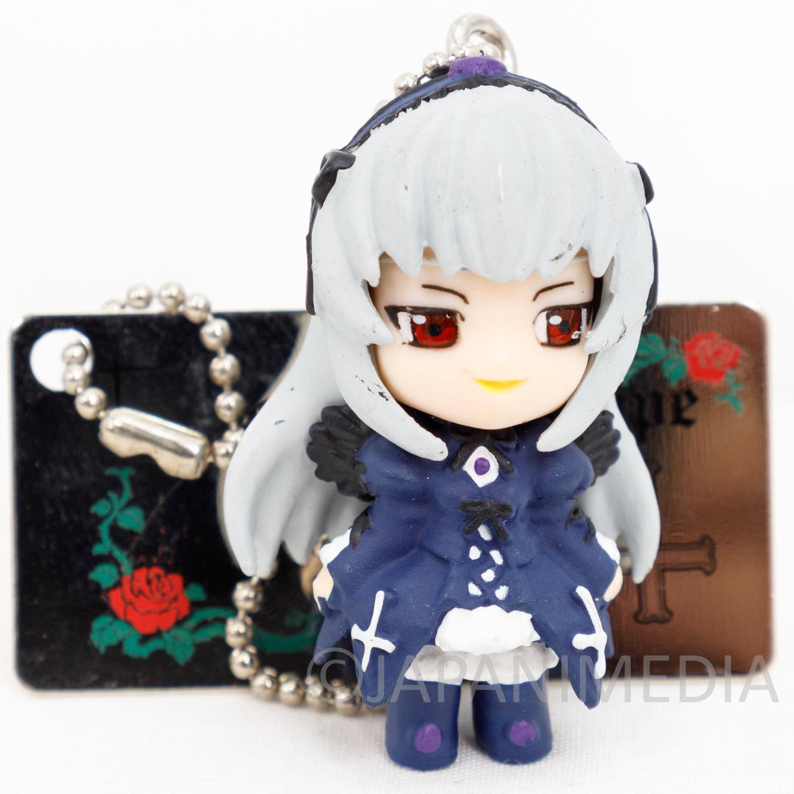 Rozen Maiden Suigintou Mascot Figure Ballchain Yujin JAPAN ANIME