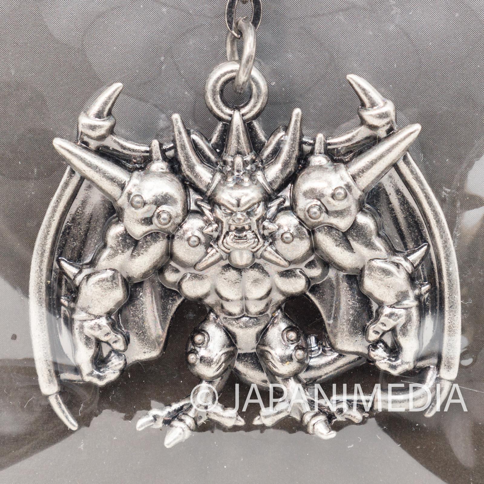 Dragon Quest Metal Charm Keychain Deathtamoor SQEX TOYS JAPAN WARRIOR