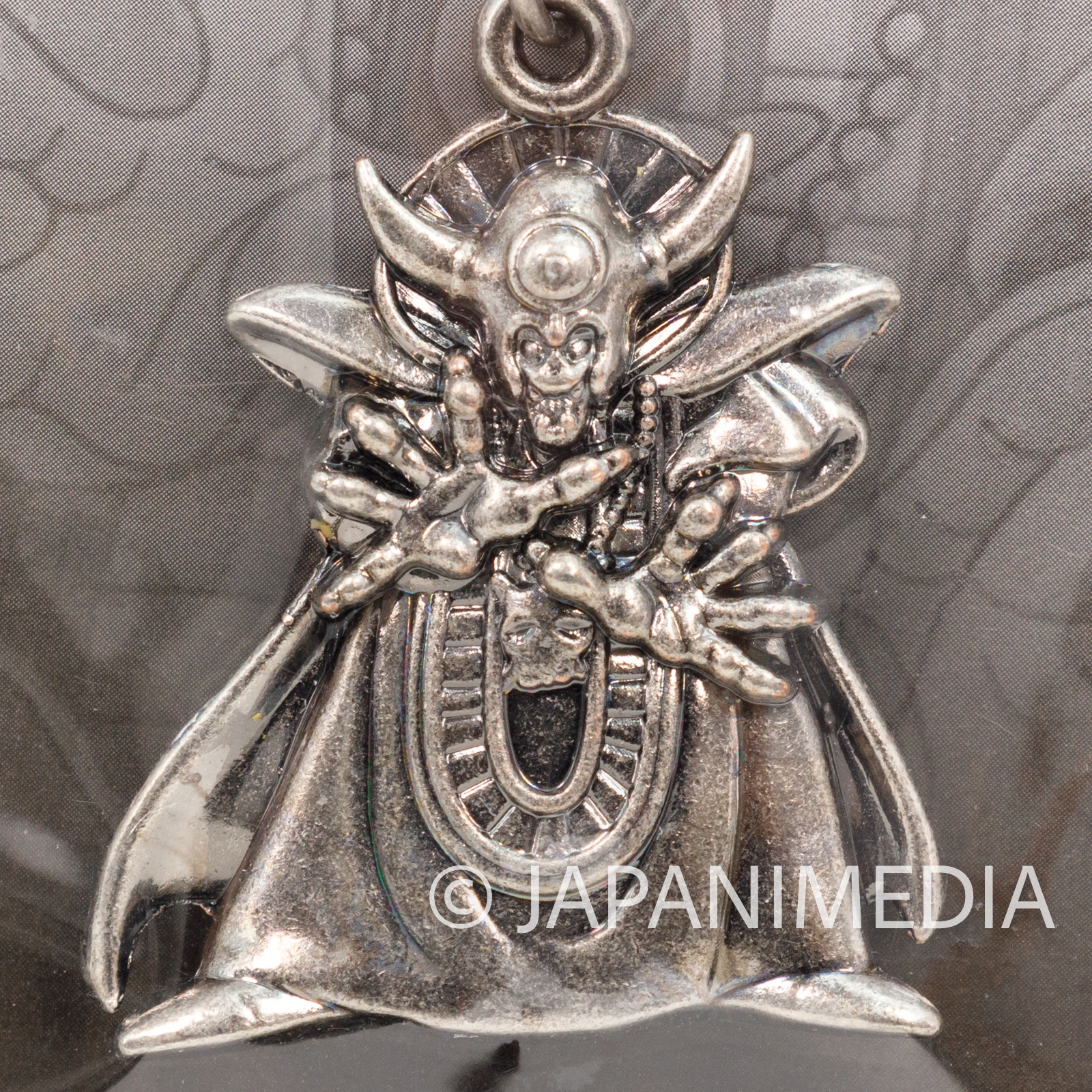 Dragon Quest Metal Charm Keychain Zoma SQEX TOYS JAPAN WARRIOR