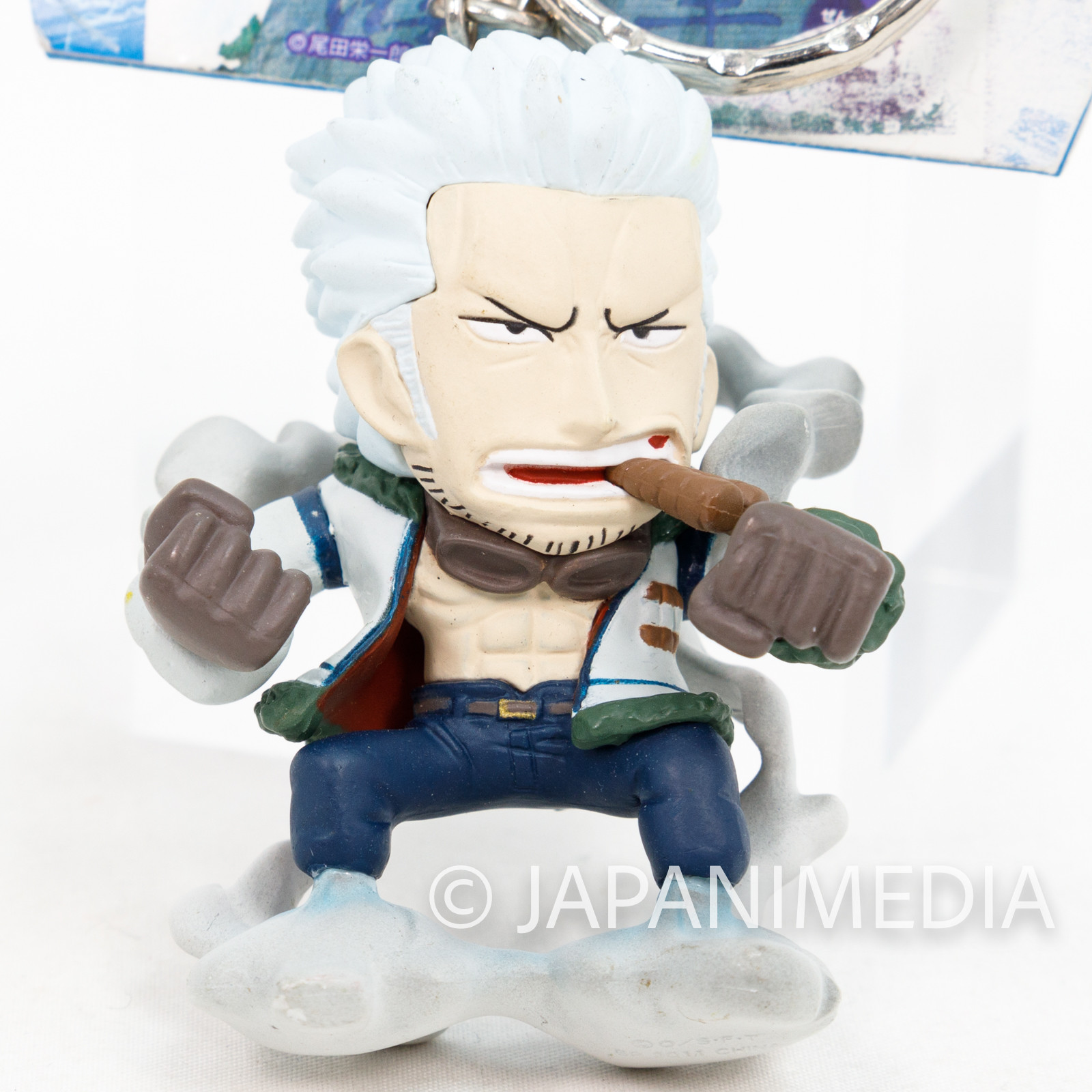 One Piece Smoker Figure Keychain Banpresto JAPAN ANIME