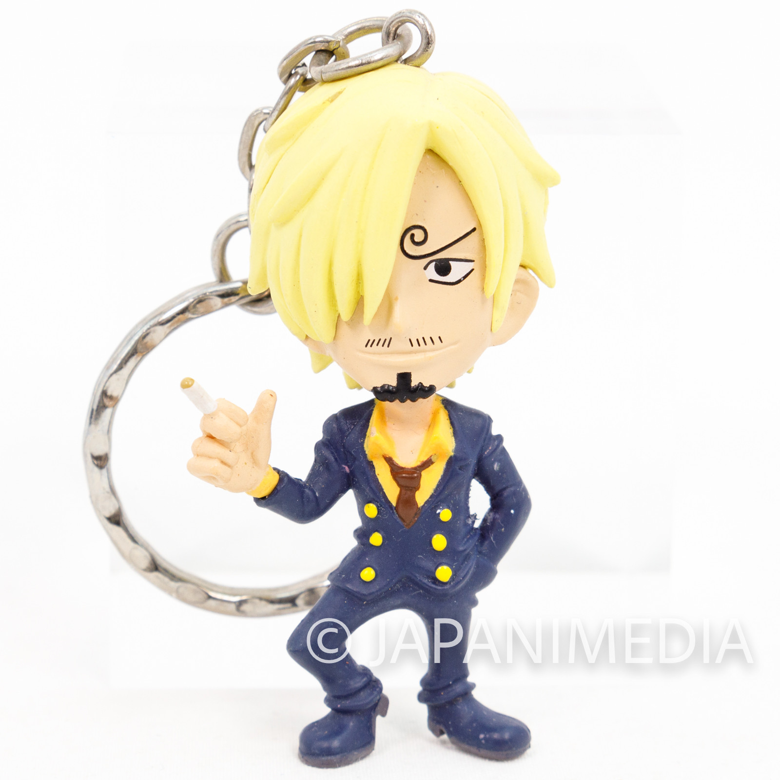 One Piece Sanji Figure Keychain Banpresto JAPAN ANIME