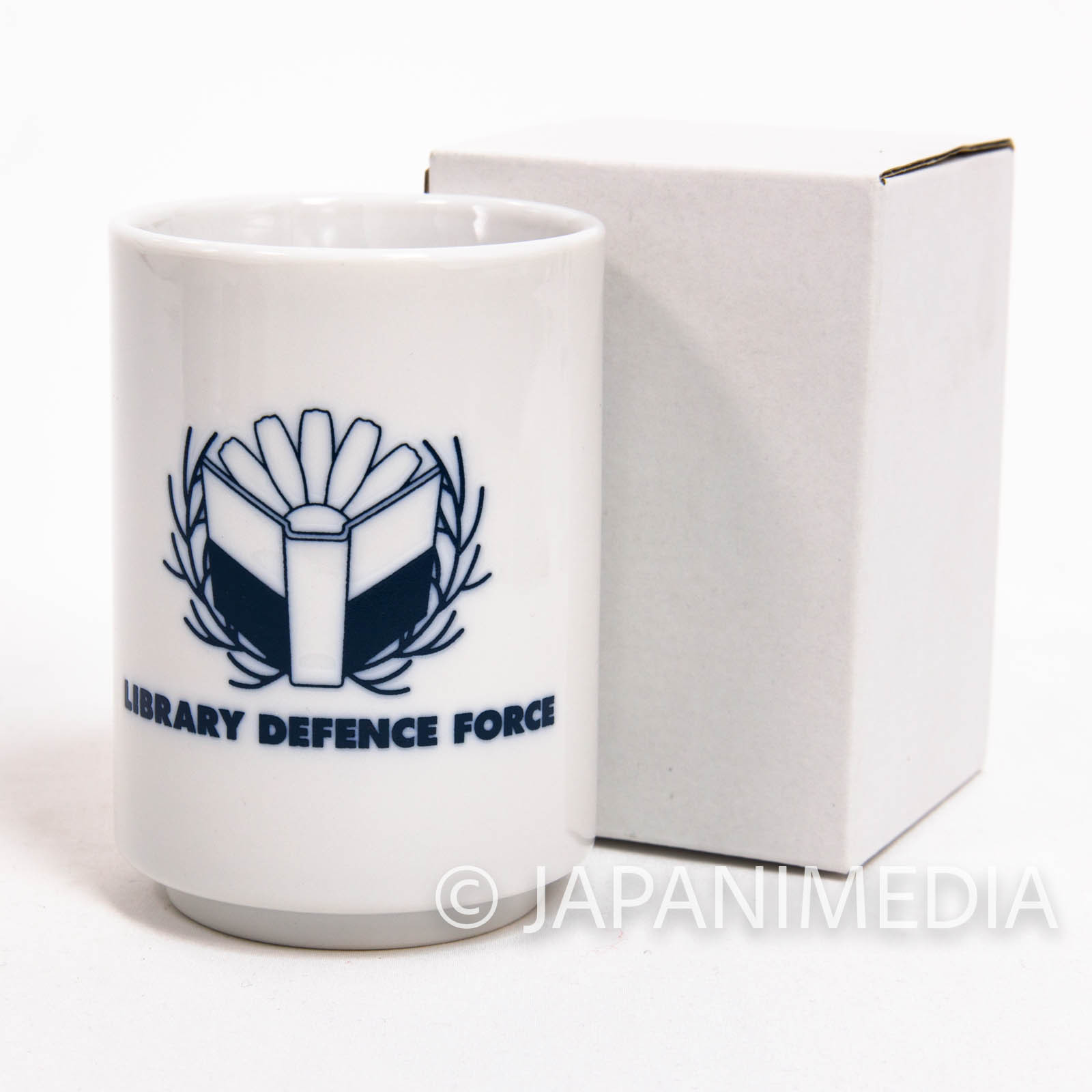 Library War: The Wings of Revolutio Library Defence Force Japanese Tea cup Yunomi JAPAN ANIME