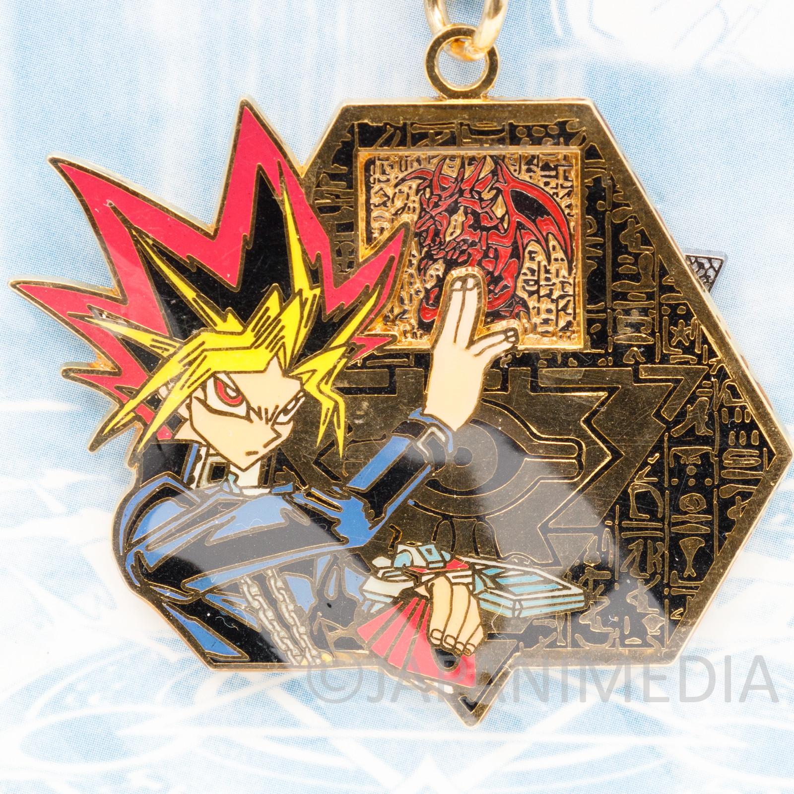Yu-Gi-Oh! Yugi Muto (Dark Yugi) Metal Charm Keychain Jump Festa 2003 JAPAN ANIME