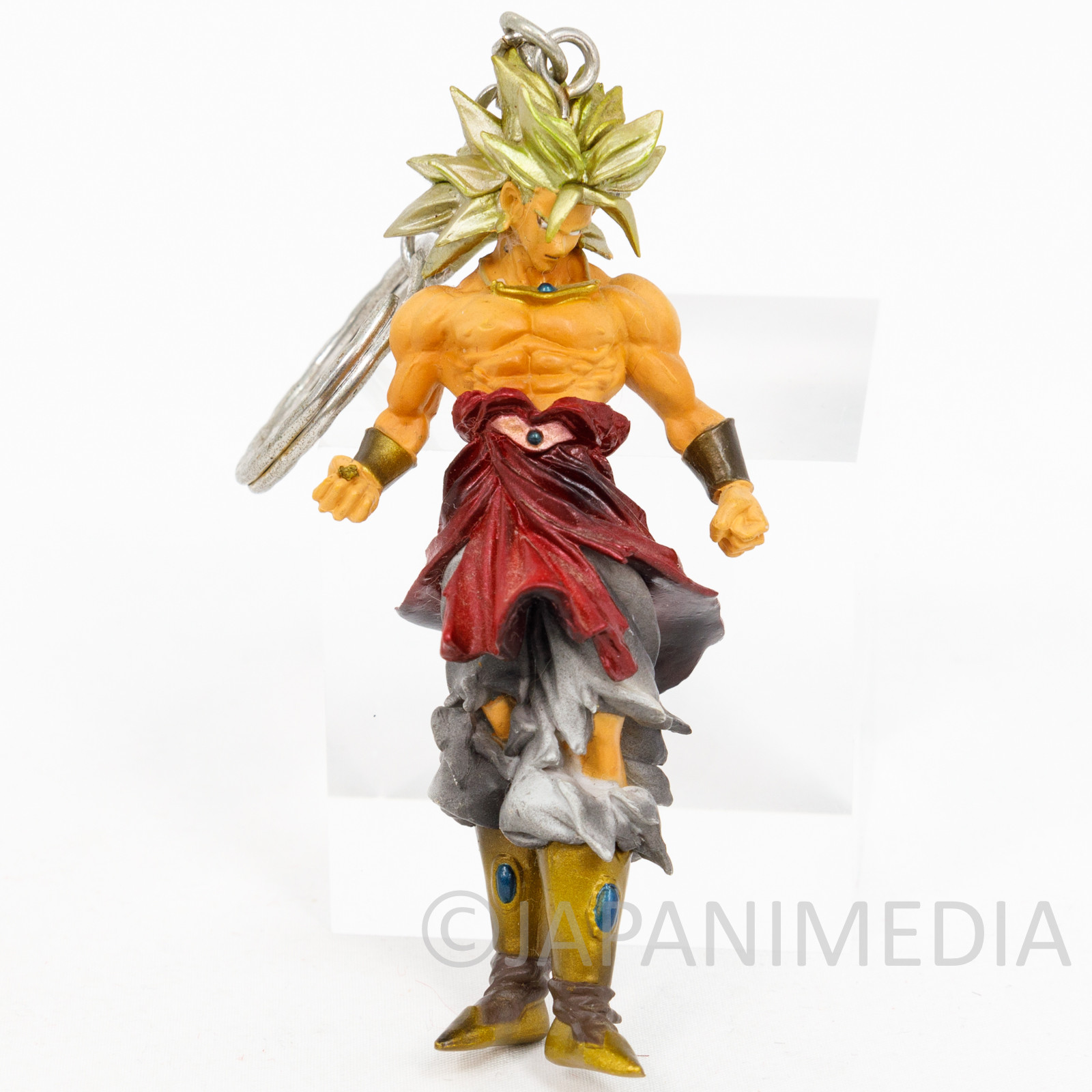 Dragon Ball Z Broly Figure Key Chain Holder JAPAN ANIME MANGA