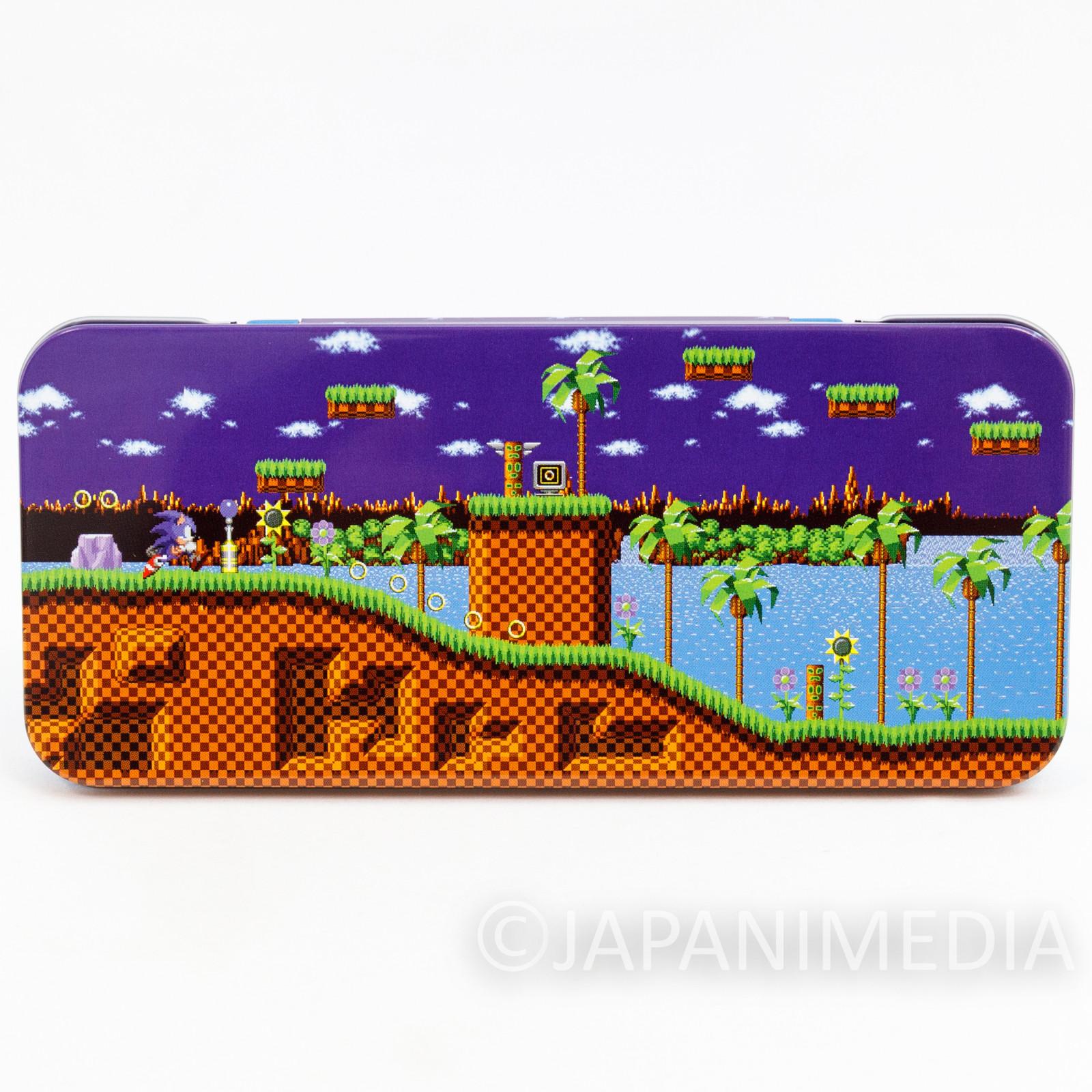 Sonic The Hedgehog Can Pen Case Stage ver. SEGA JAPAN GAME